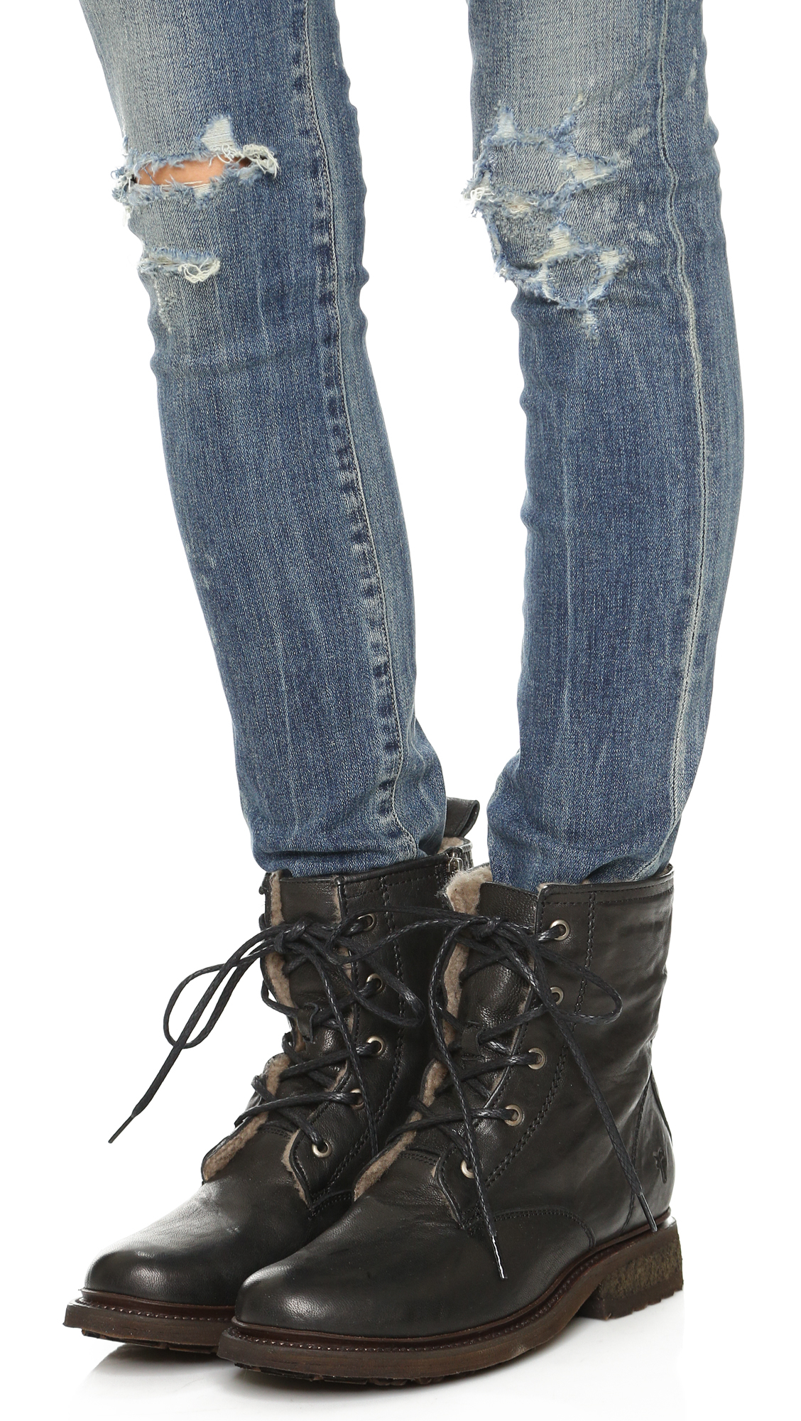 Frye Valerie Lace Up Boot N1SDD
