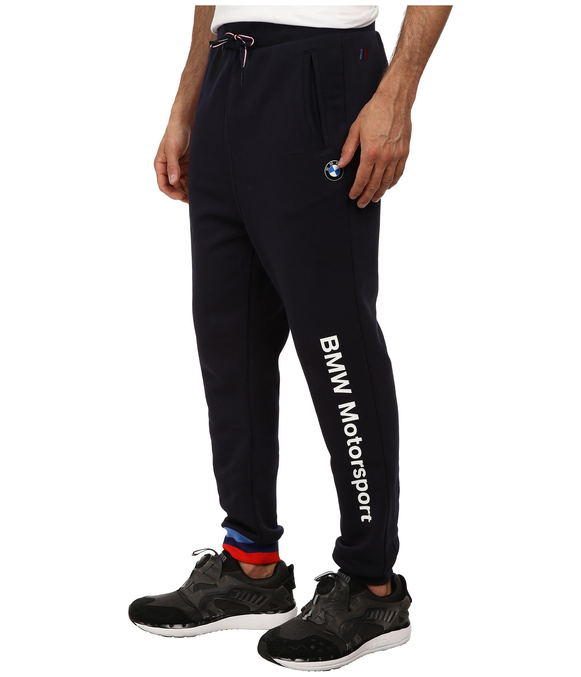 d0b7d67552c6 Lyst - PUMA Bmw Msp Sweat Pants in Blue for Men