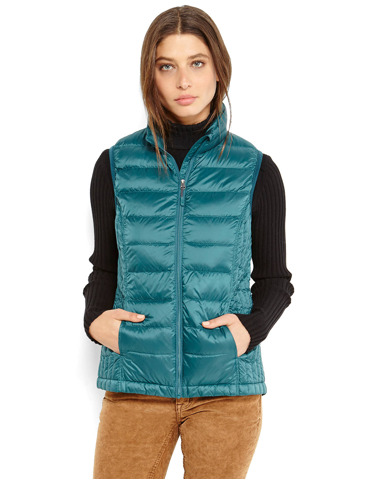 Weatherproof 32 Degrees Packable Down Vest In Black Lyst