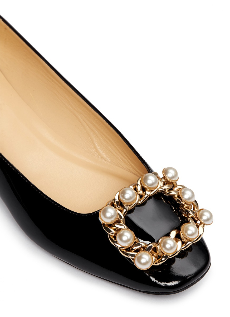 Shoe Buckle Black And Gold