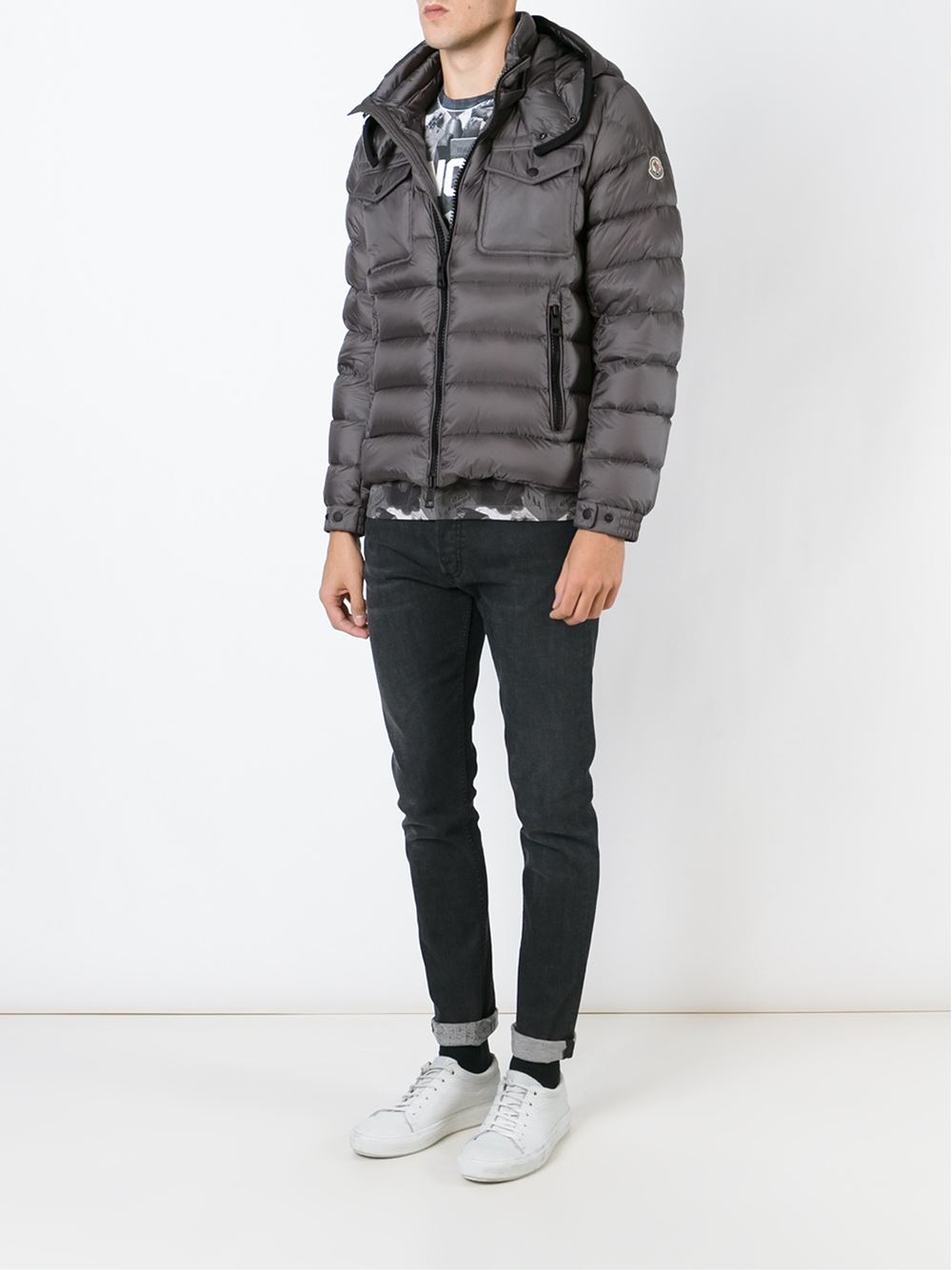 moncler womens grey