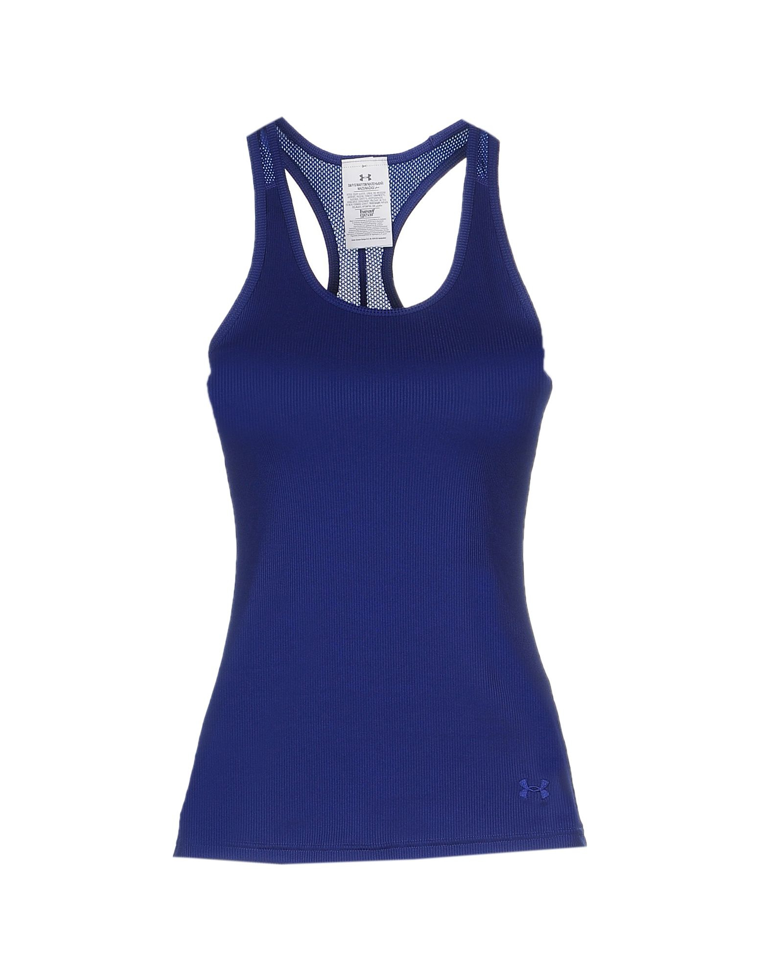 lyst under armour tank top in blue. Black Bedroom Furniture Sets. Home Design Ideas