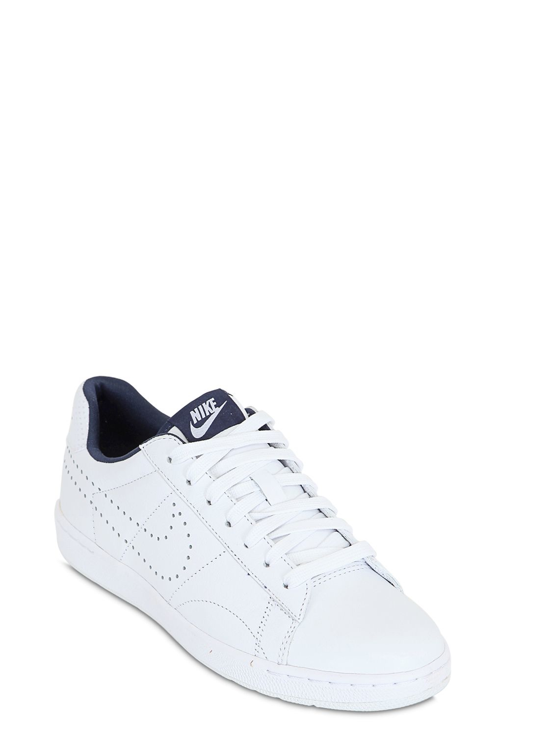 competitive price a2d3c 88796 Nike Tennis Classic Ultra Fo Leather Sneakers in White for Men - Lyst
