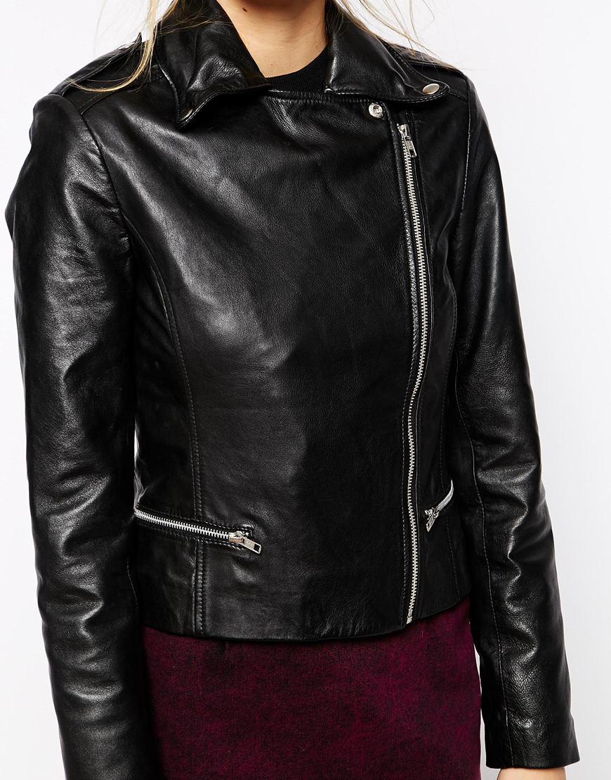 Olsen leather jacket