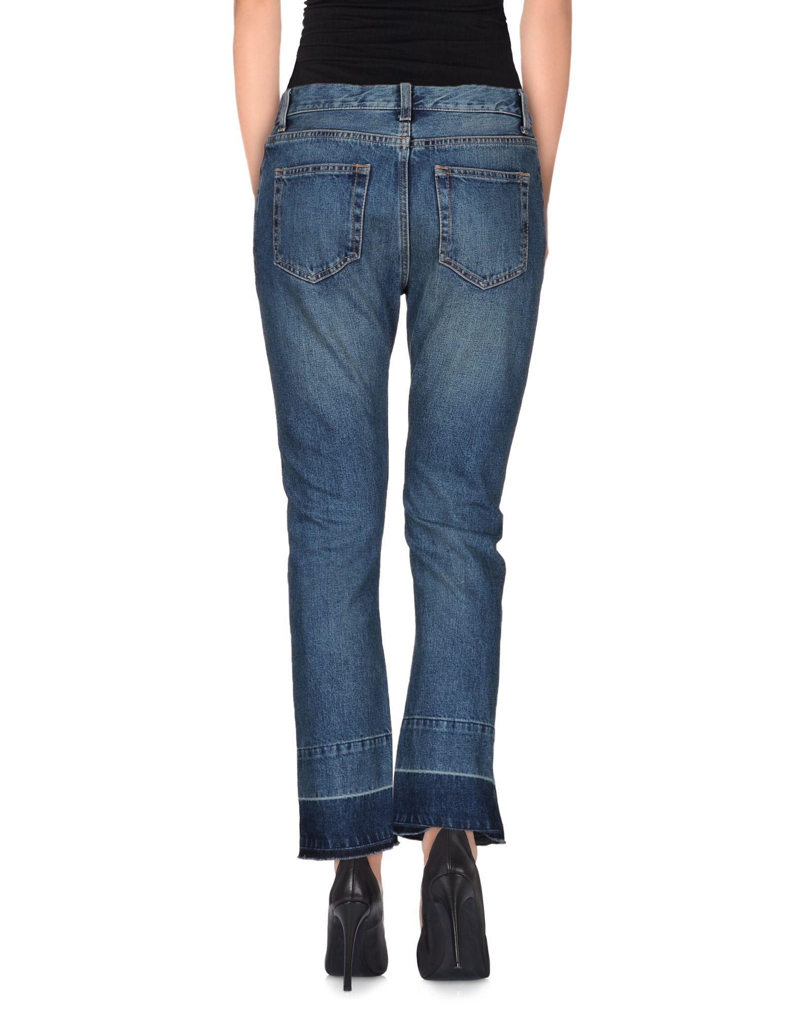 DENIM - Denim trousers Erika Cavallini Semi Couture With Mastercard Fast Express tCJjZOPH