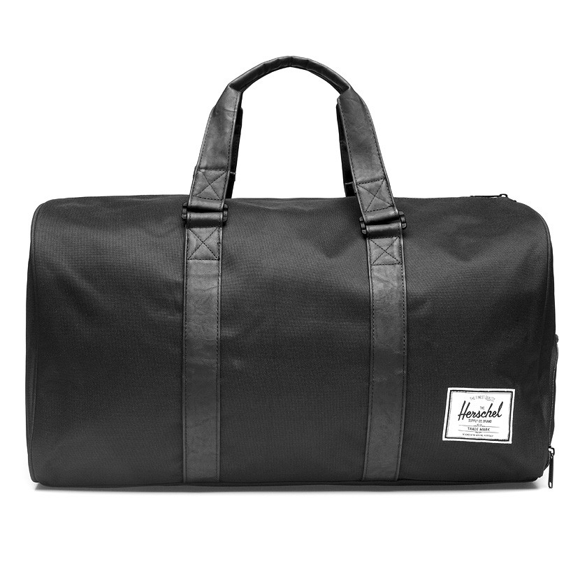 Gym Bag Herschel: Herschel Supply Co. All Black Novel Duffel Bag In Black