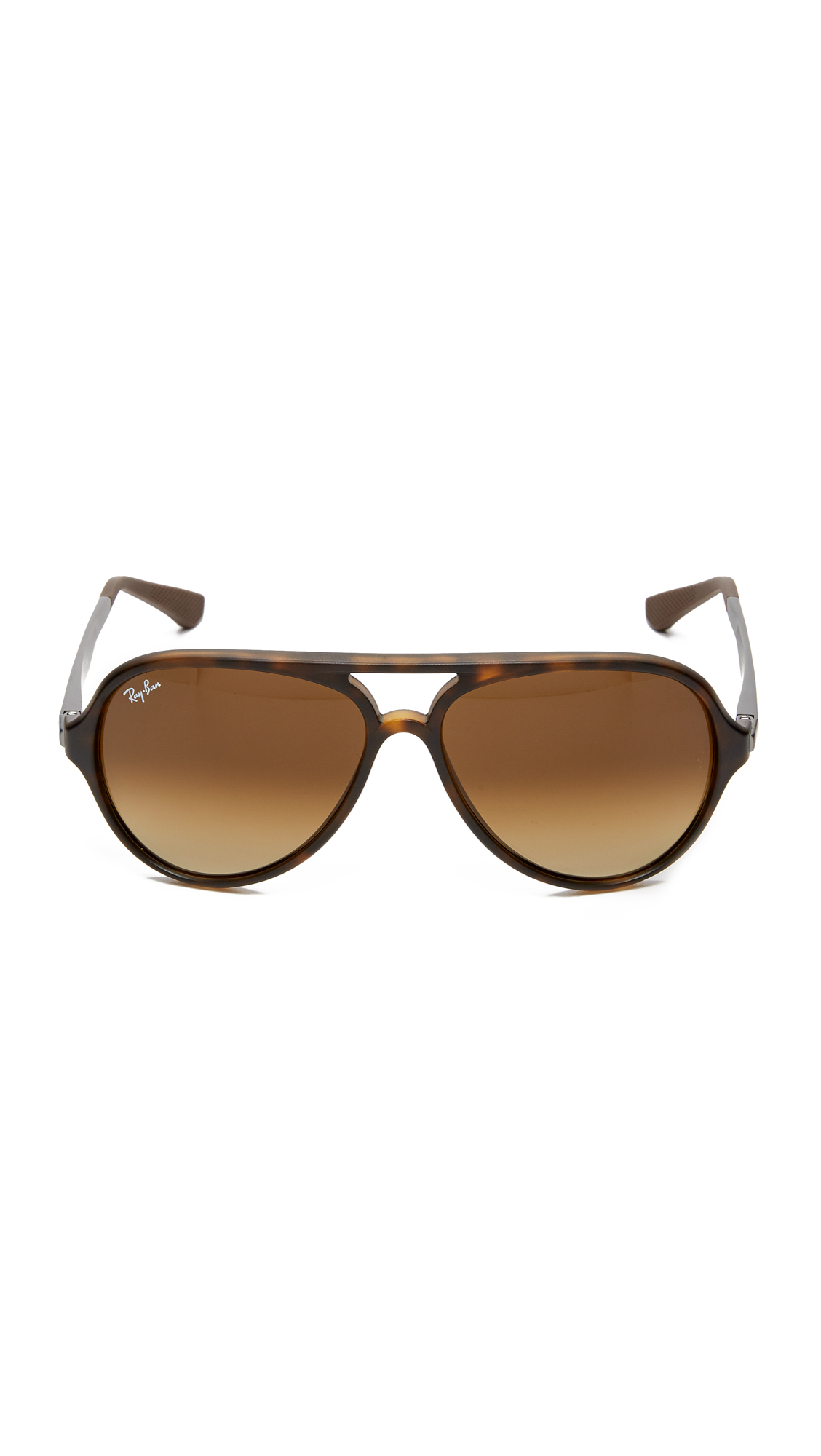 Lyst Ray Ban Pilot Aviator Sunglasses In Brown