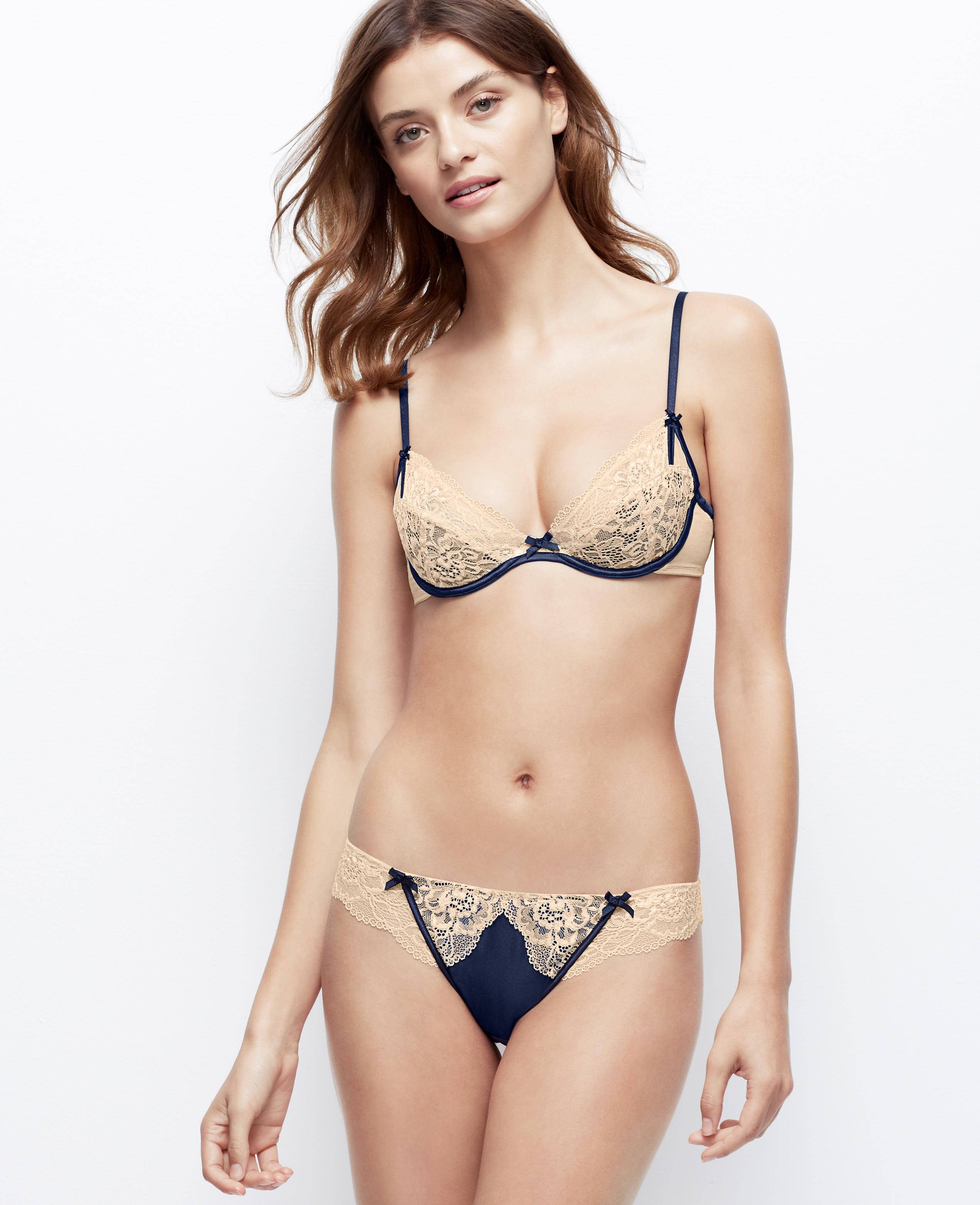 94005282d8 Lyst - Ann Taylor Elle Macpherson Intimates Balsam Moon Bikini in ...