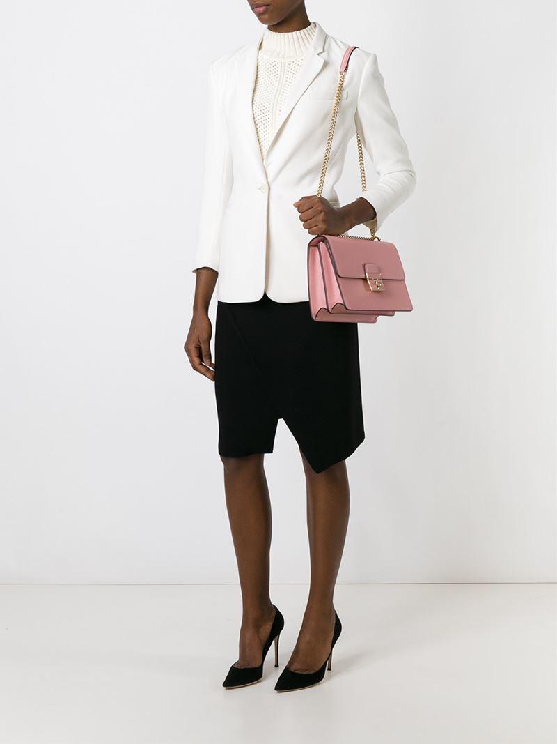6b4b2b74c108c Lyst - Dolce   Gabbana  Rosalia  Shoulder Bag in Metallic