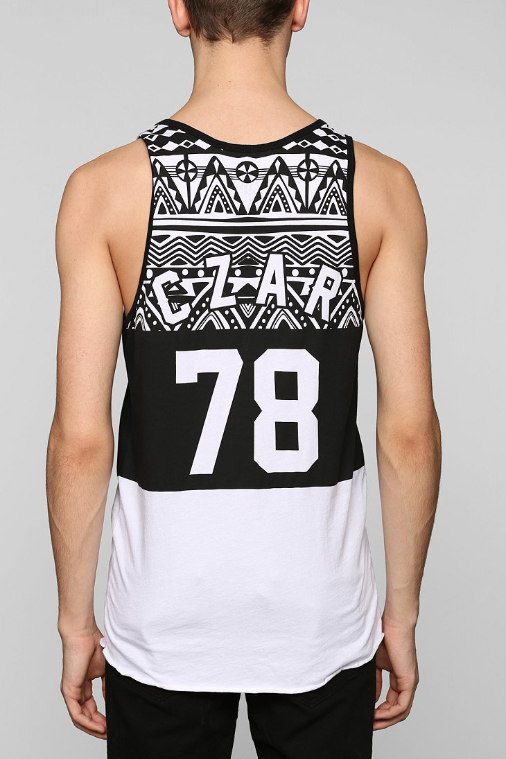 289e5bed9f8da8 Lyst - Urban Outfitters Czar 78 Tank Top in Black for Men