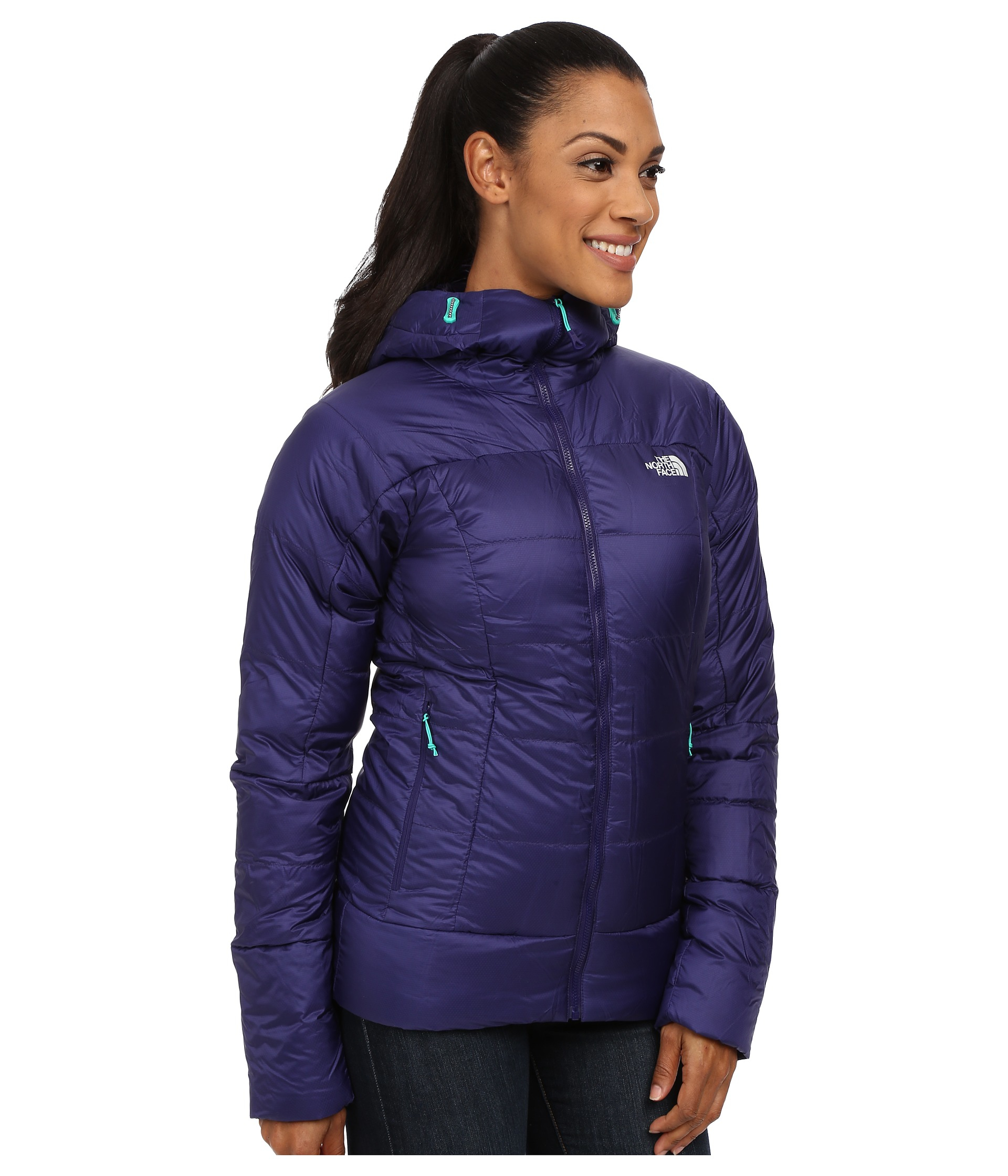 a3b2c779f7a1 Lyst - The North Face Prospectus Down Jacket in Purple