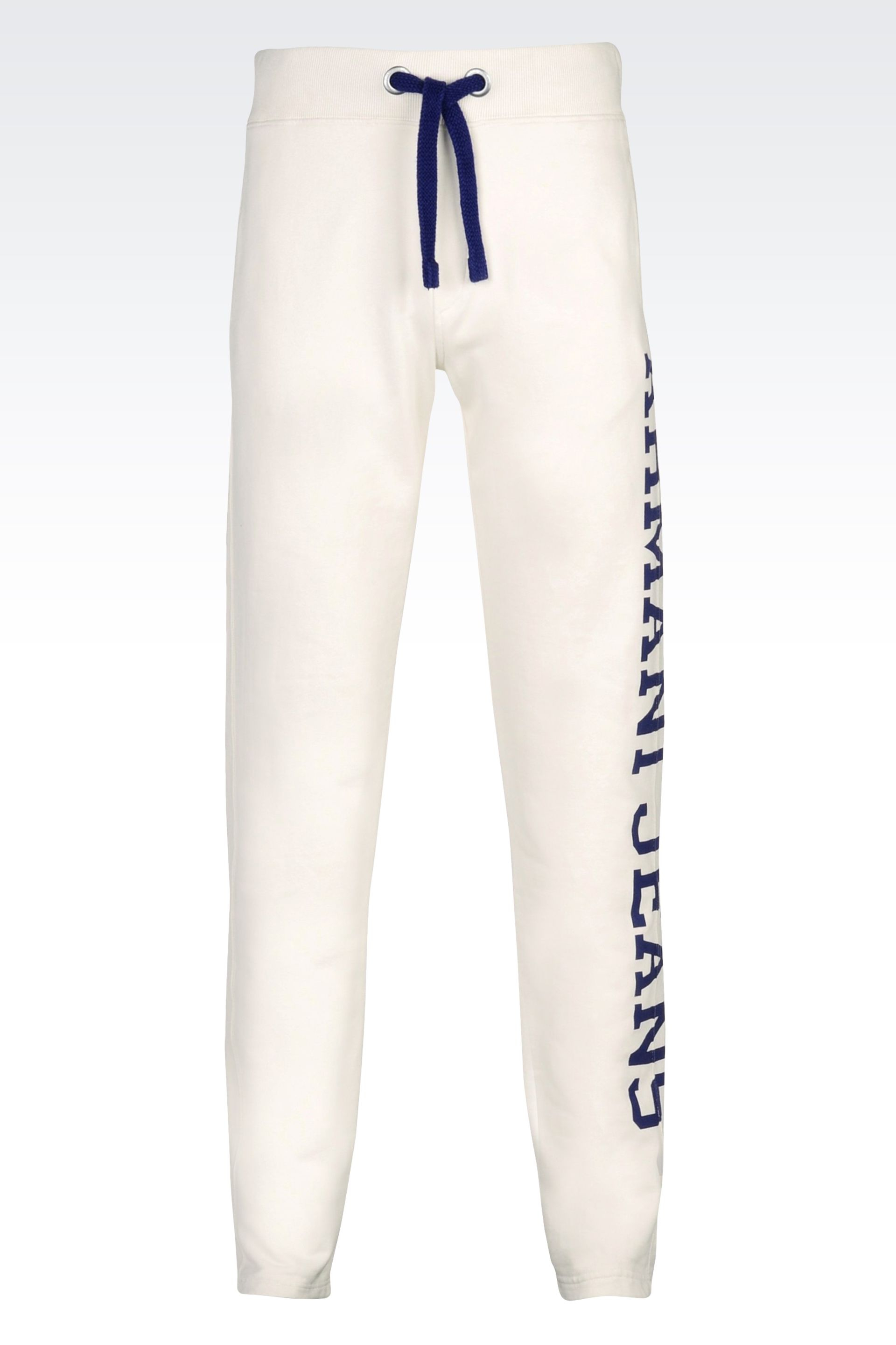 Lyst - Armani Jeans Sweat Pants in Natural for Men 3b2611accac2