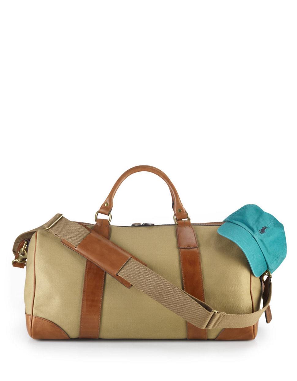 26fe89125c Polo Ralph Lauren Mens Holdall Sports Gym Weekend Bag Blue