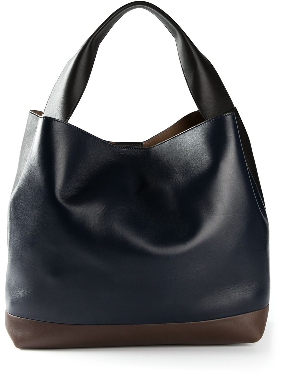 Marni Pod Bag Tote In Black