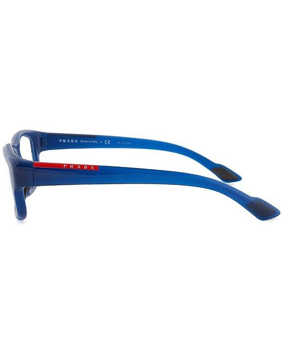 prada silver handbag - Prada Sport Vps 02e Oai-101 Rectangular Optical Eyeglass Frames ...