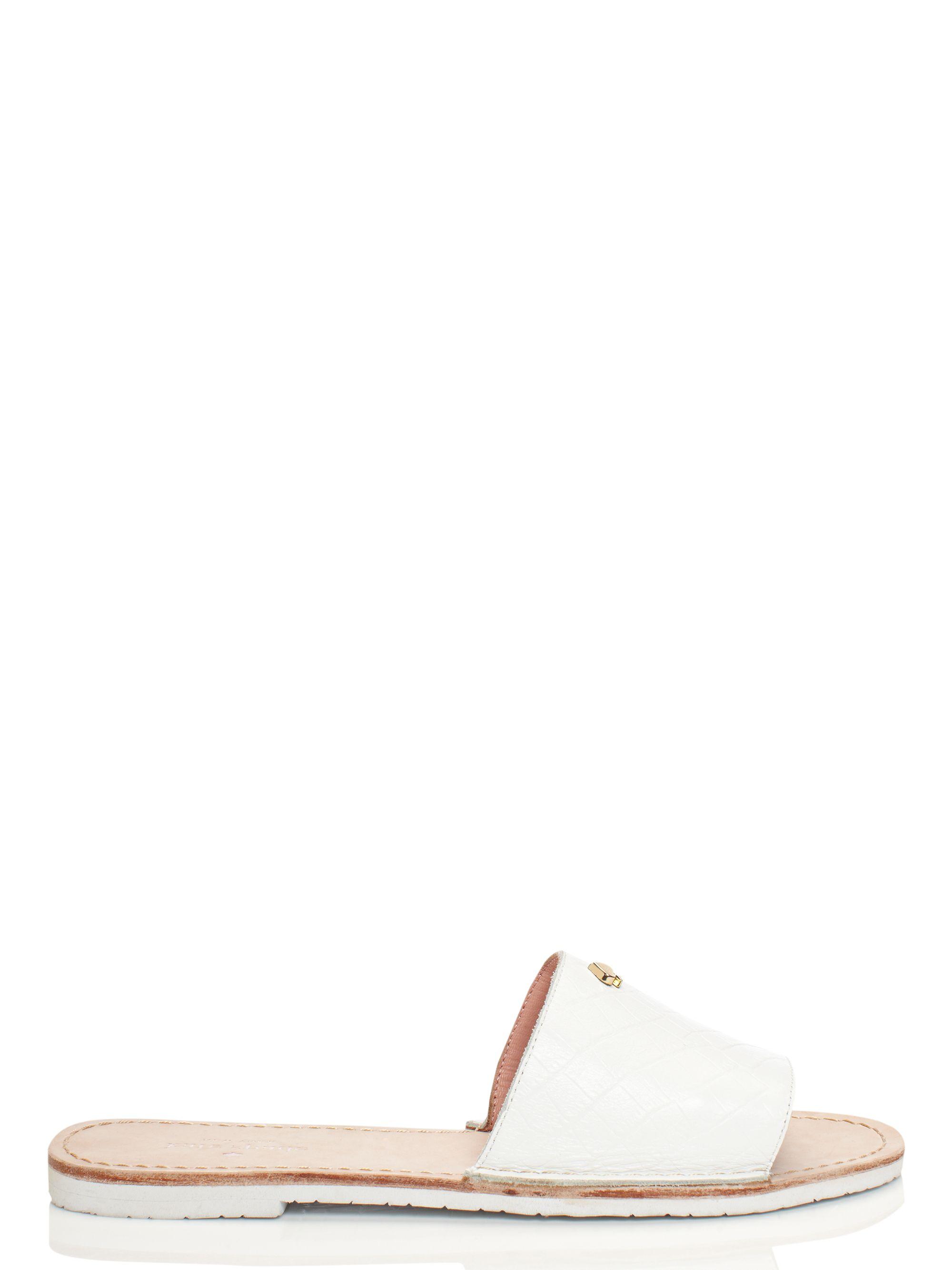 e47d6d885f31 Kate Spade Imperiale Sandals in White - Lyst
