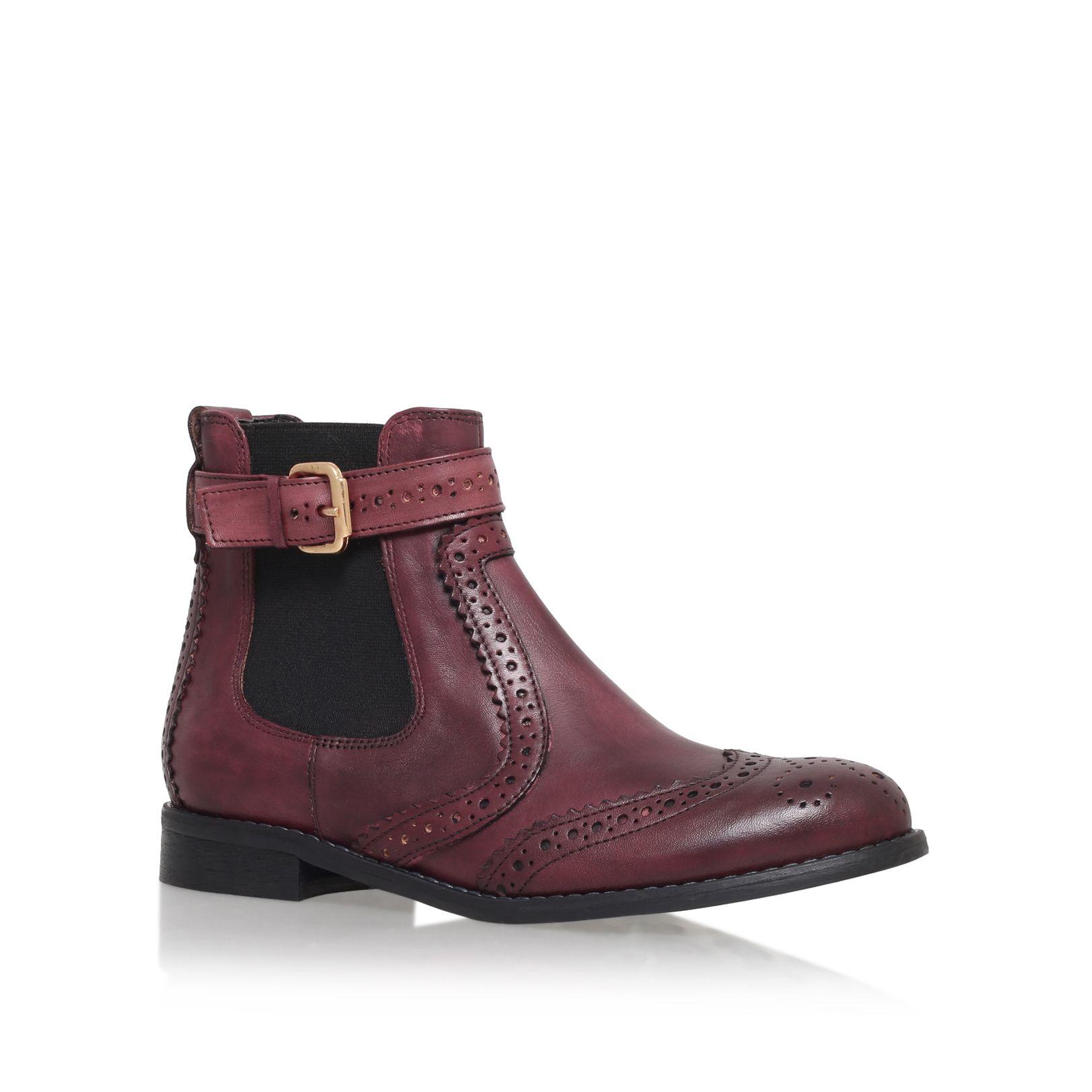 Carvela Kurt Geiger Slow Chelsea Boots In Purple For Men | Lyst
