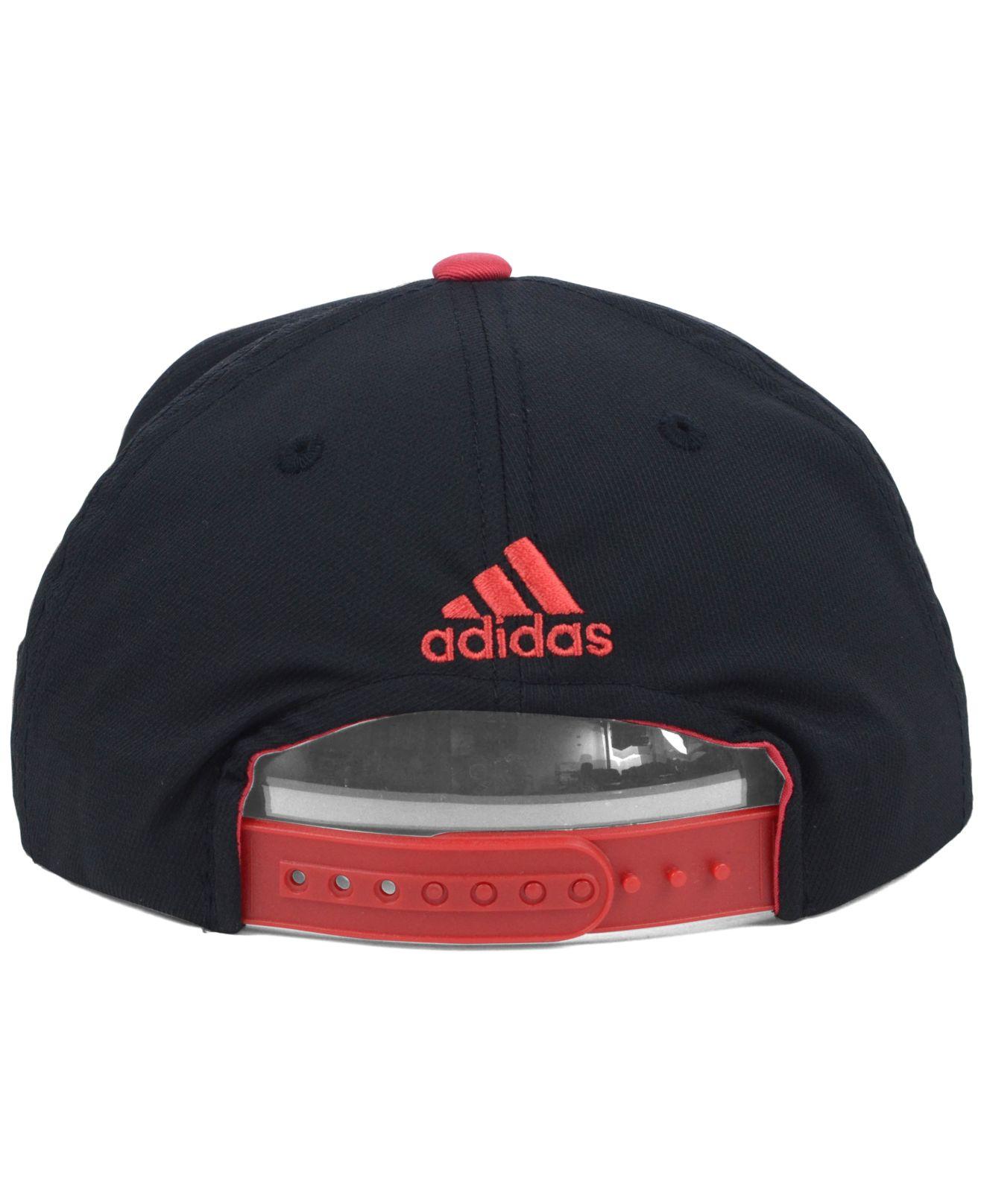 664643d2bd7 Lyst - Adidas Dc United Mls Player Snapback Cap in Black for Men
