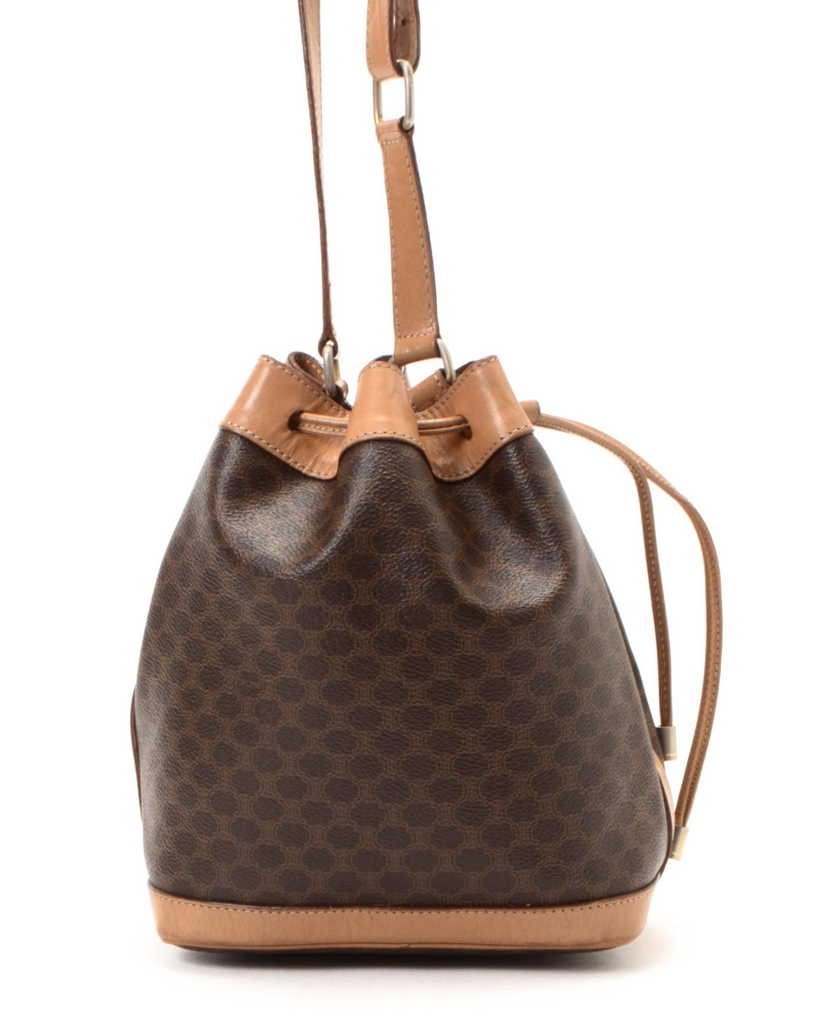 C¨¦line Brown Shoulder Bag - Vintage in Brown | Lyst