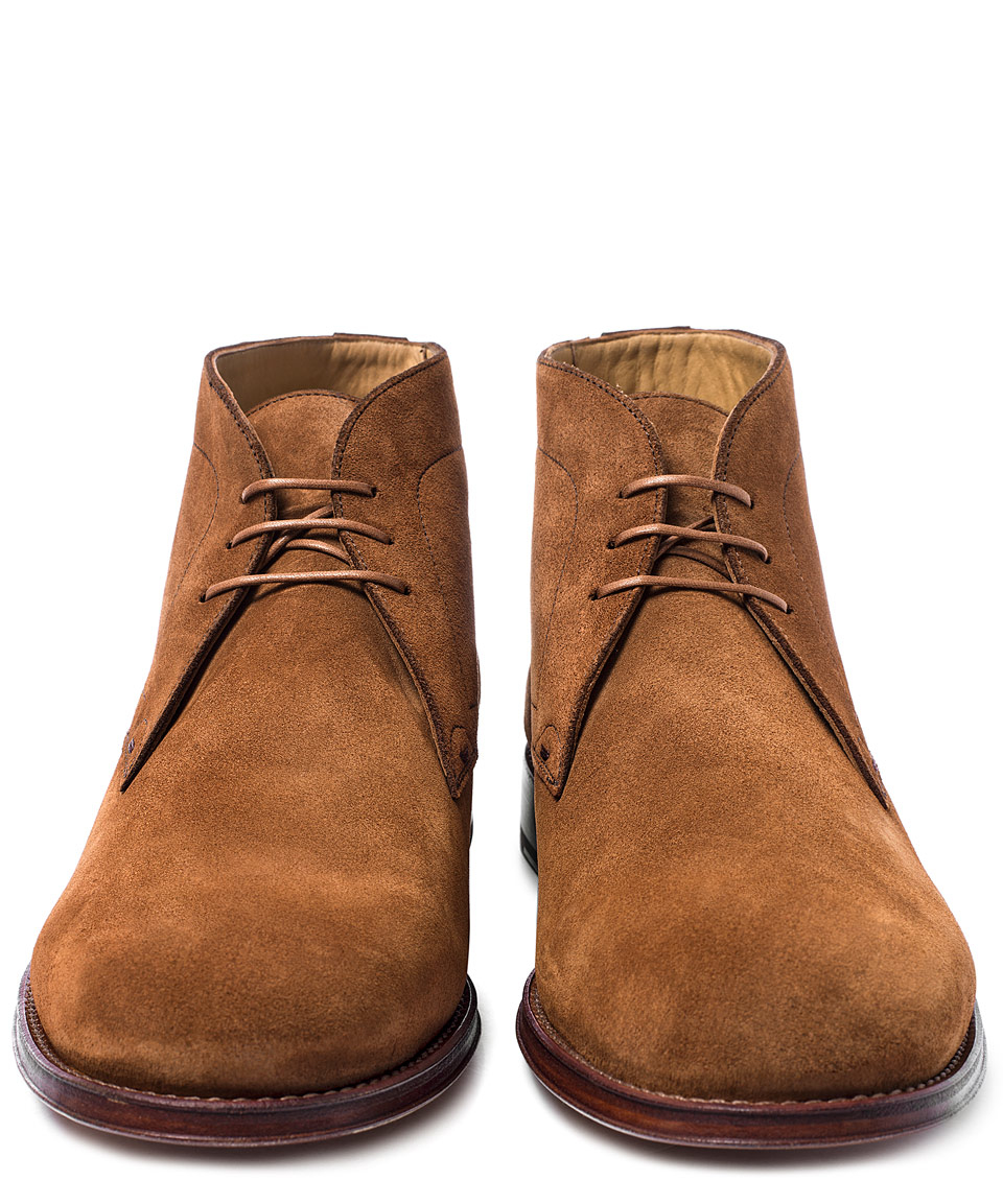 Paul smith Brown Morgan Suede Chukka Boots in Brown for Men | Lyst
