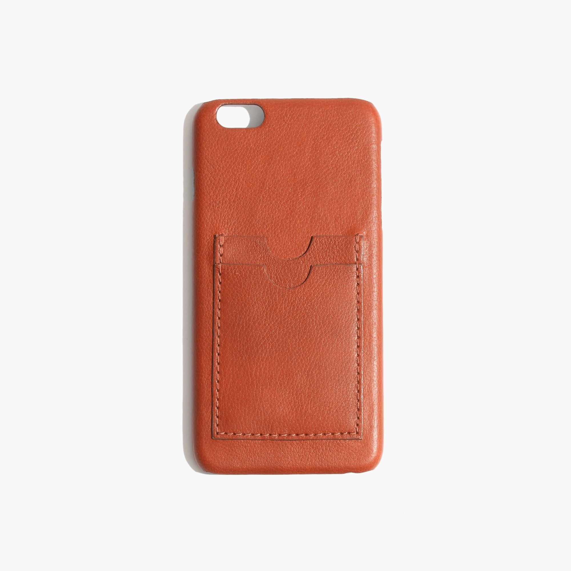 madewell iphone case madewell leather carryall for iphone 174 6 plus in brown 12603