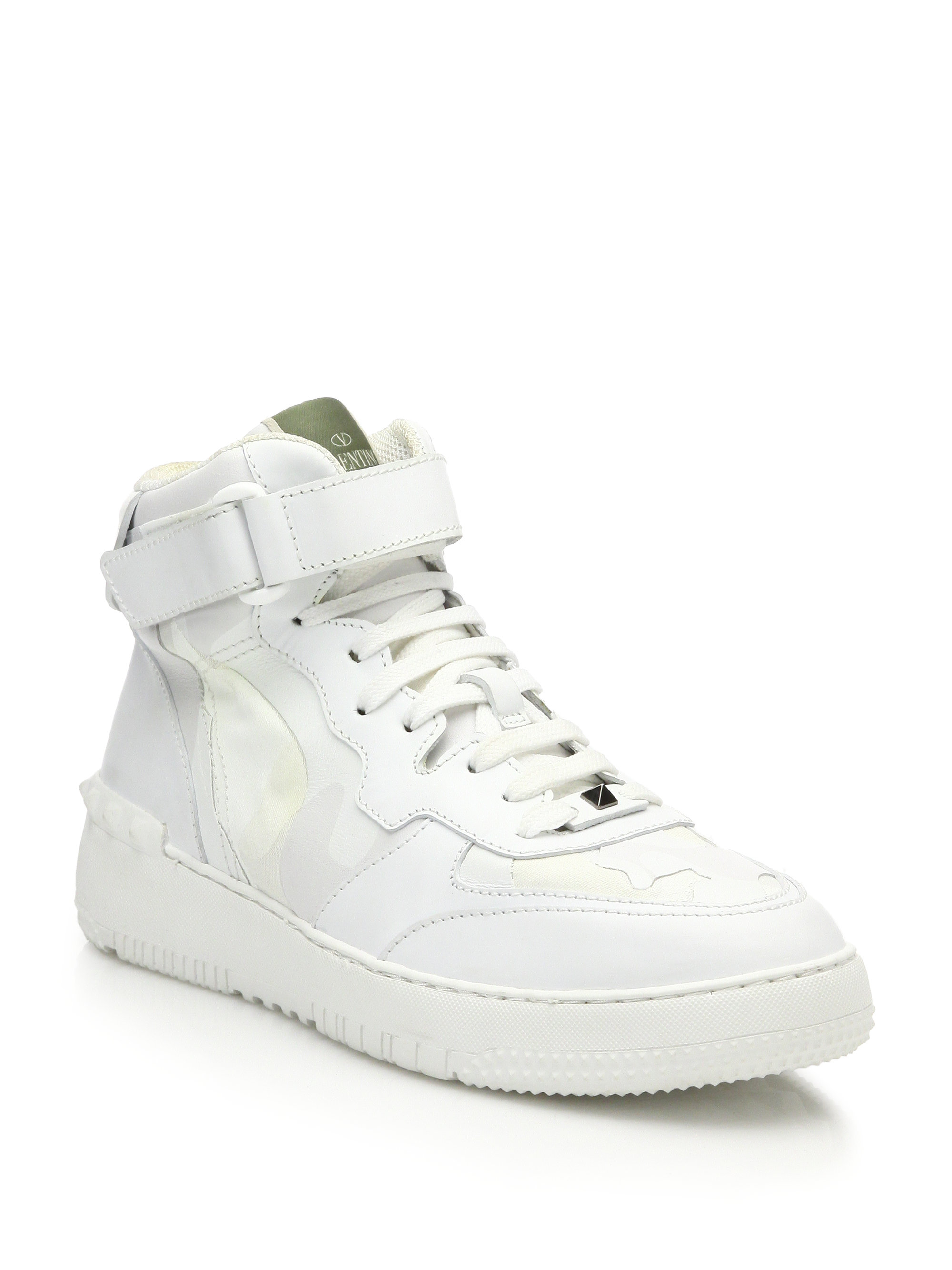 Valentino Rock Be High Sneaker White shoes online hot sale