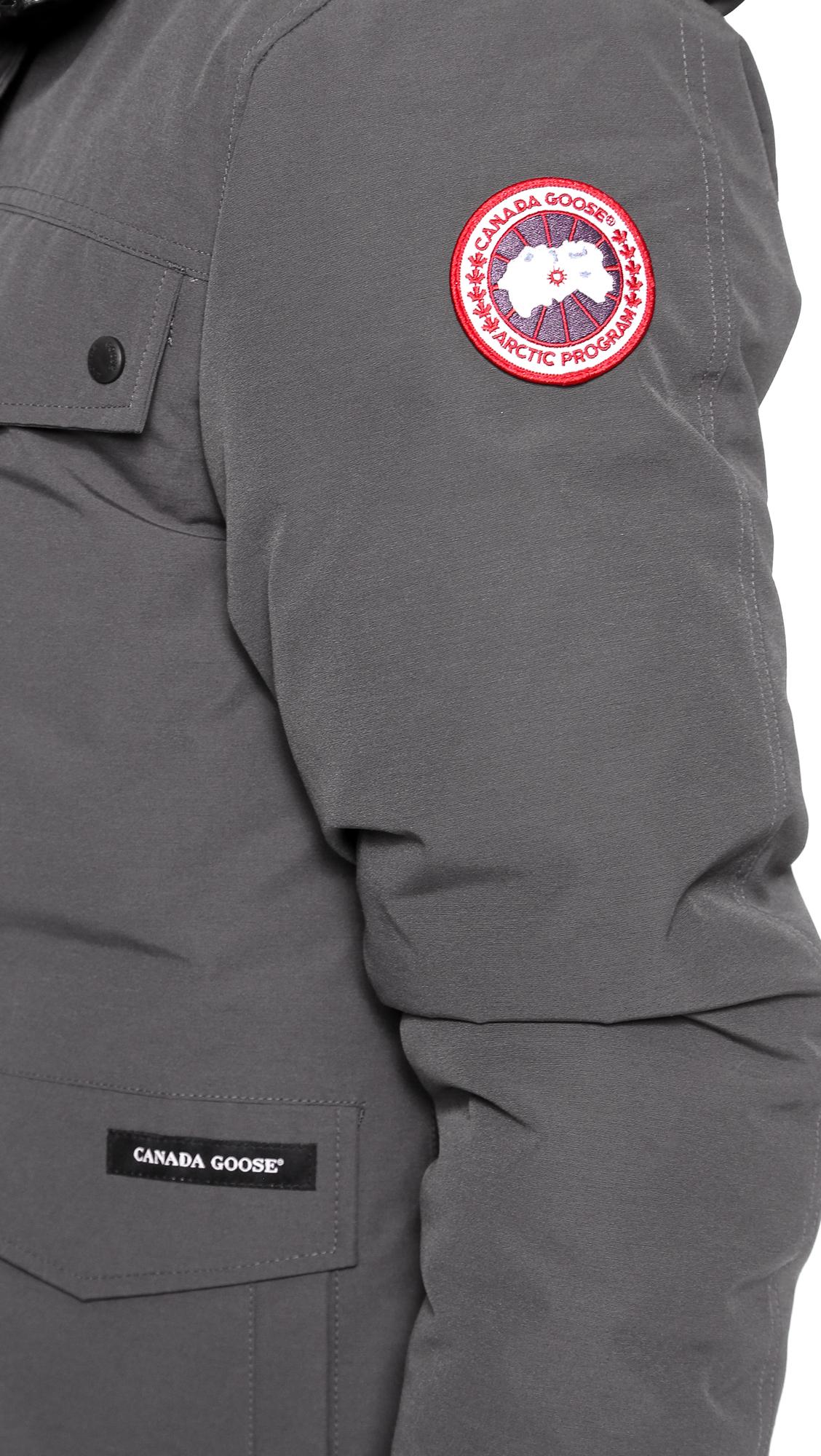 canada goose men's burnett jacket