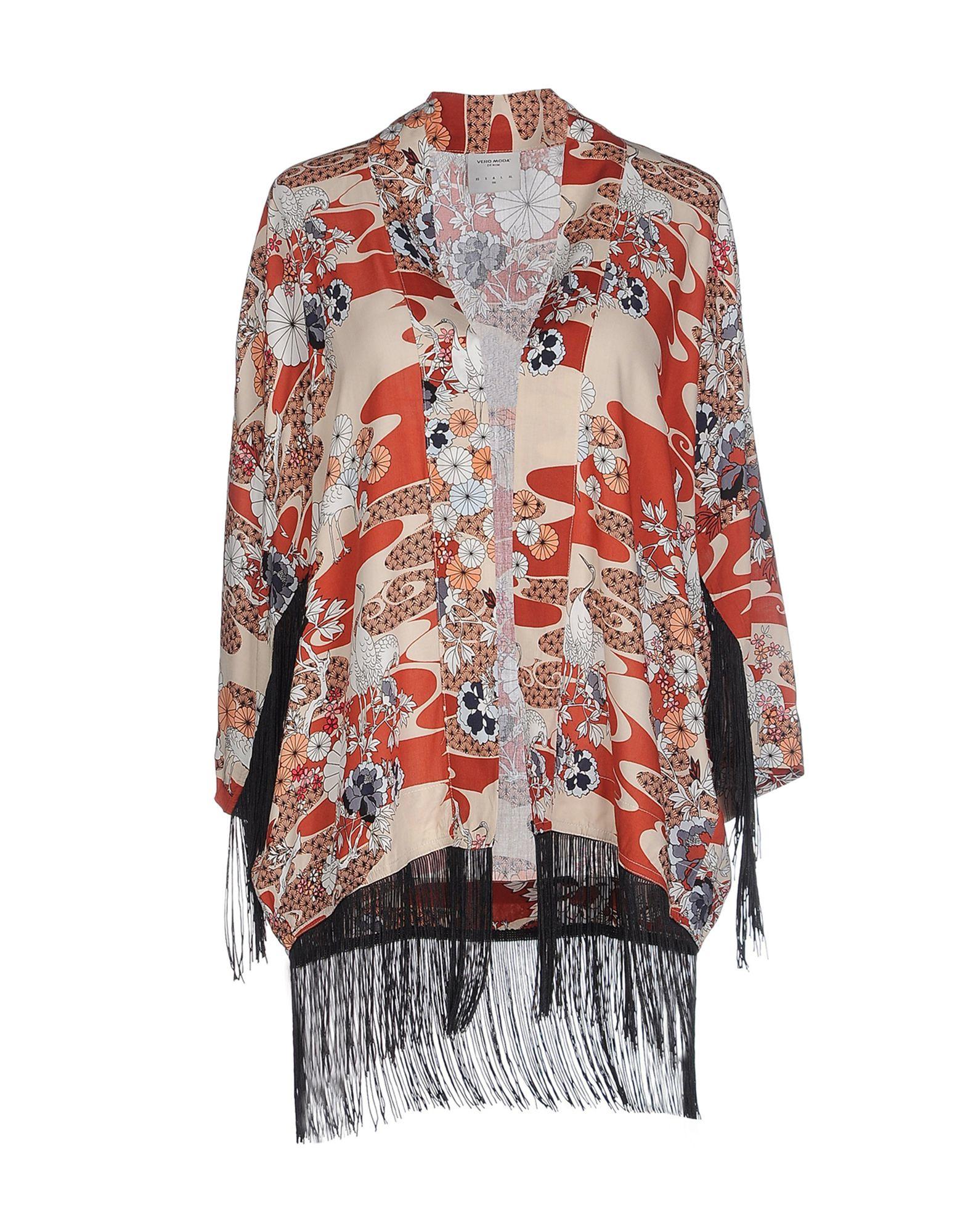 Vero Moda Knitting Patterns : Lyst vero moda cardigan in red