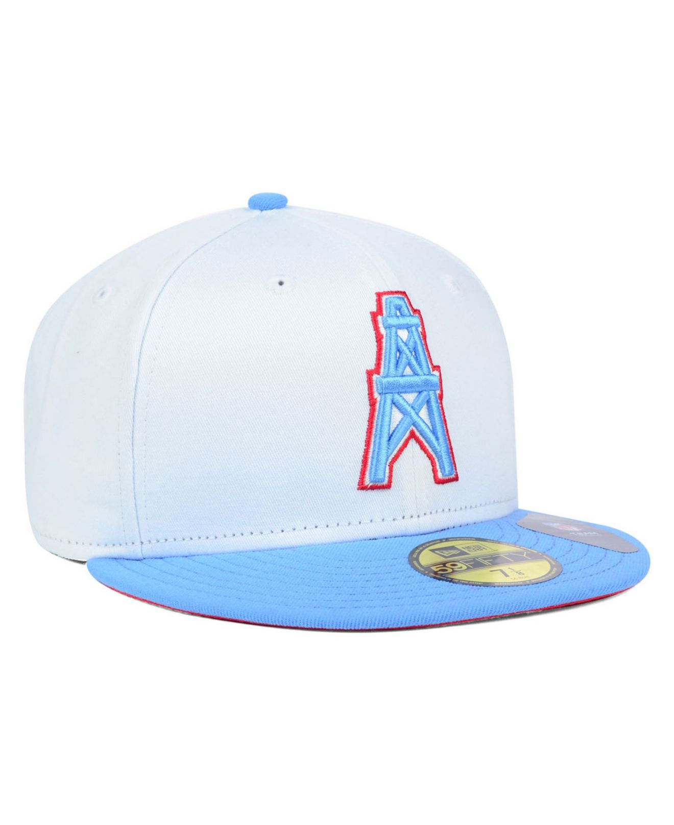 Houston Oilers Fitted Hats e8e4d790f