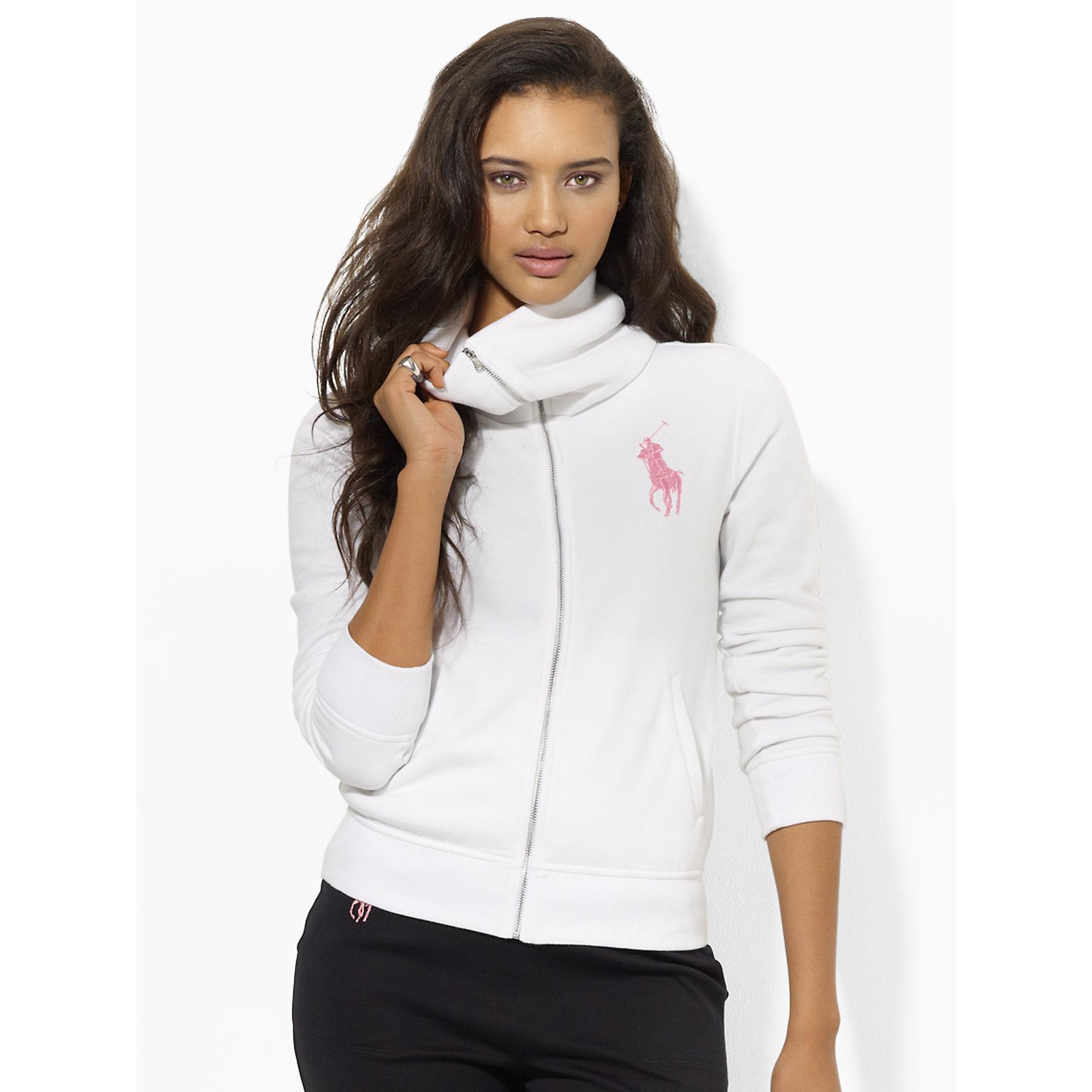 Lyst - Pink Pony Pink Pony Full-zip Jacket in White