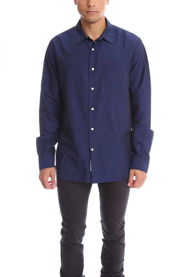 Rag Bone Beach Shirt In Blue For Men Lyst