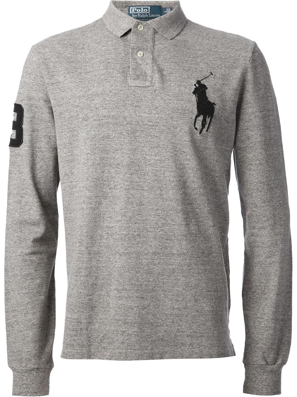 Cheap Designer Long Sleeve Polo Shirts