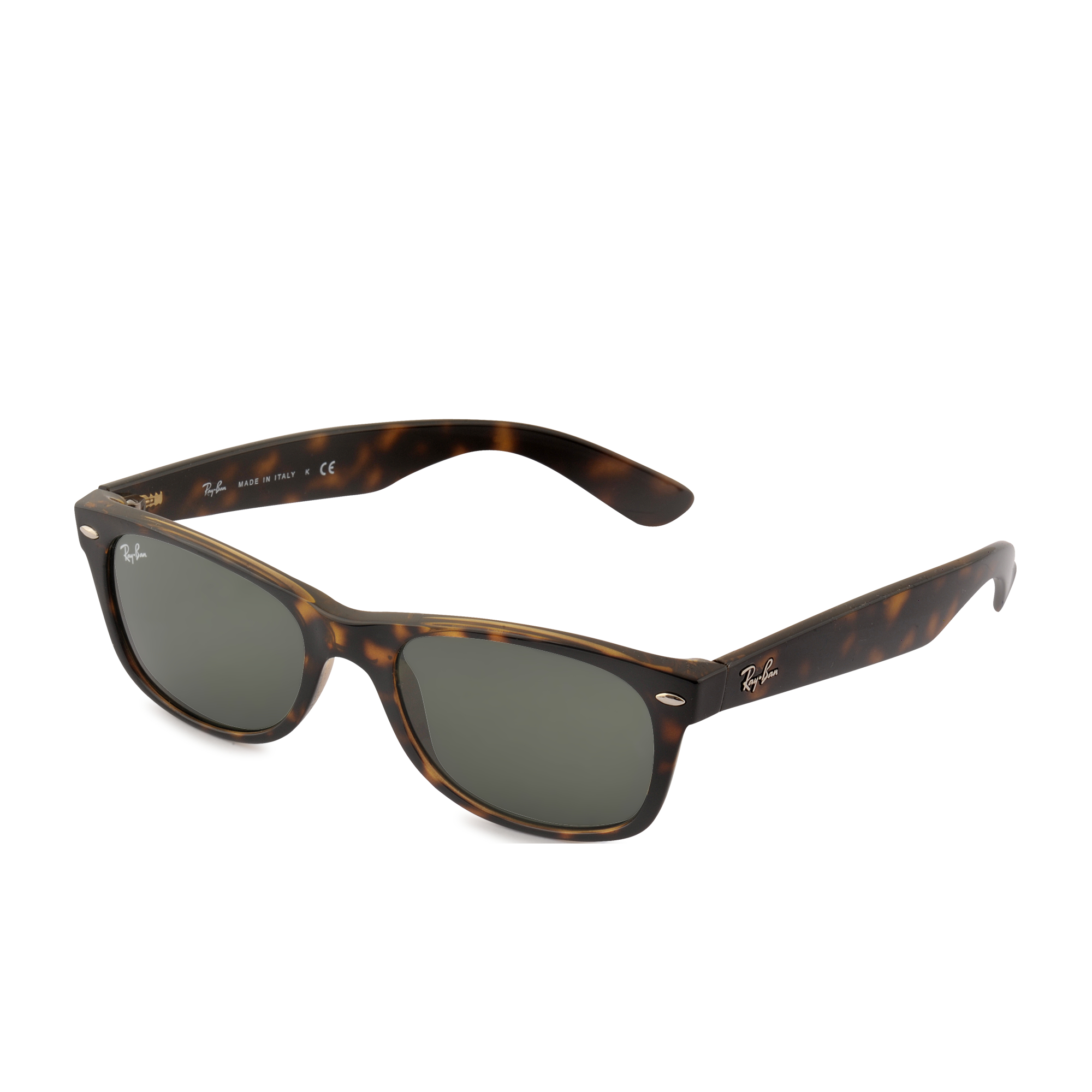 ray ban new wayfarer 2132 sunglasses in brown lyst. Black Bedroom Furniture Sets. Home Design Ideas