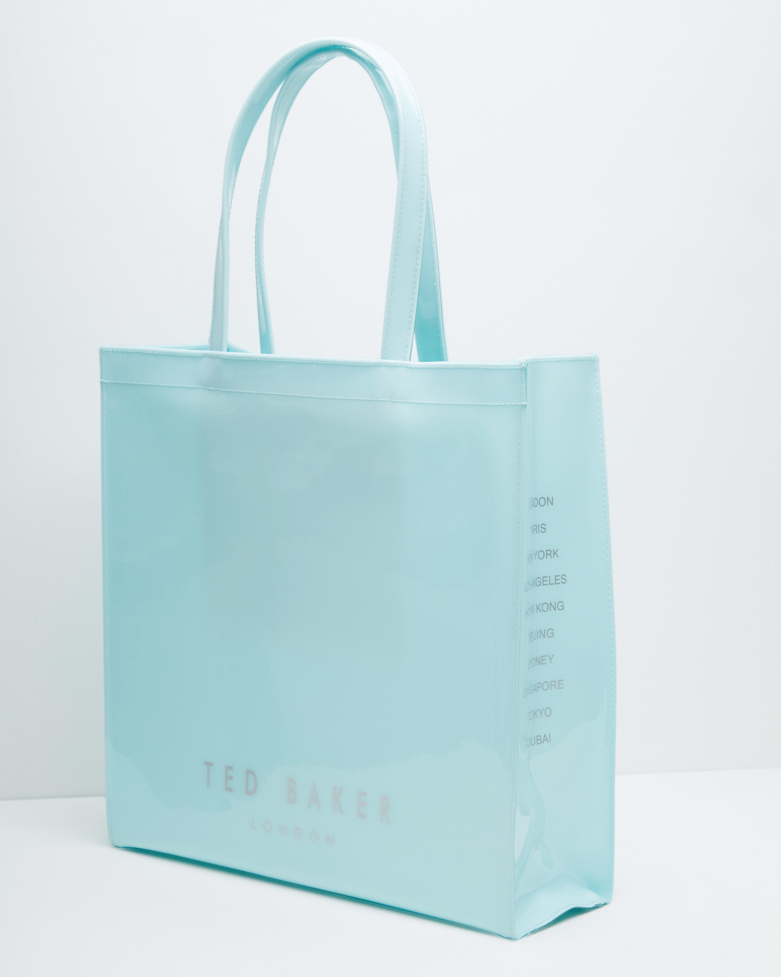 Lyst Ted Baker Bow Detail Large Shopper Bag In Green
