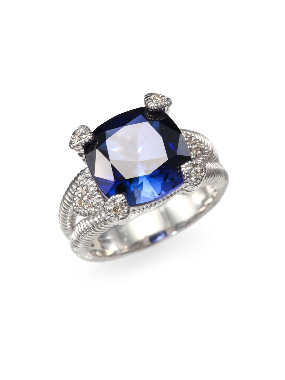 corundum sapphire si blue vintage i in h engagement diamond gold white and rings gemstone ring halo