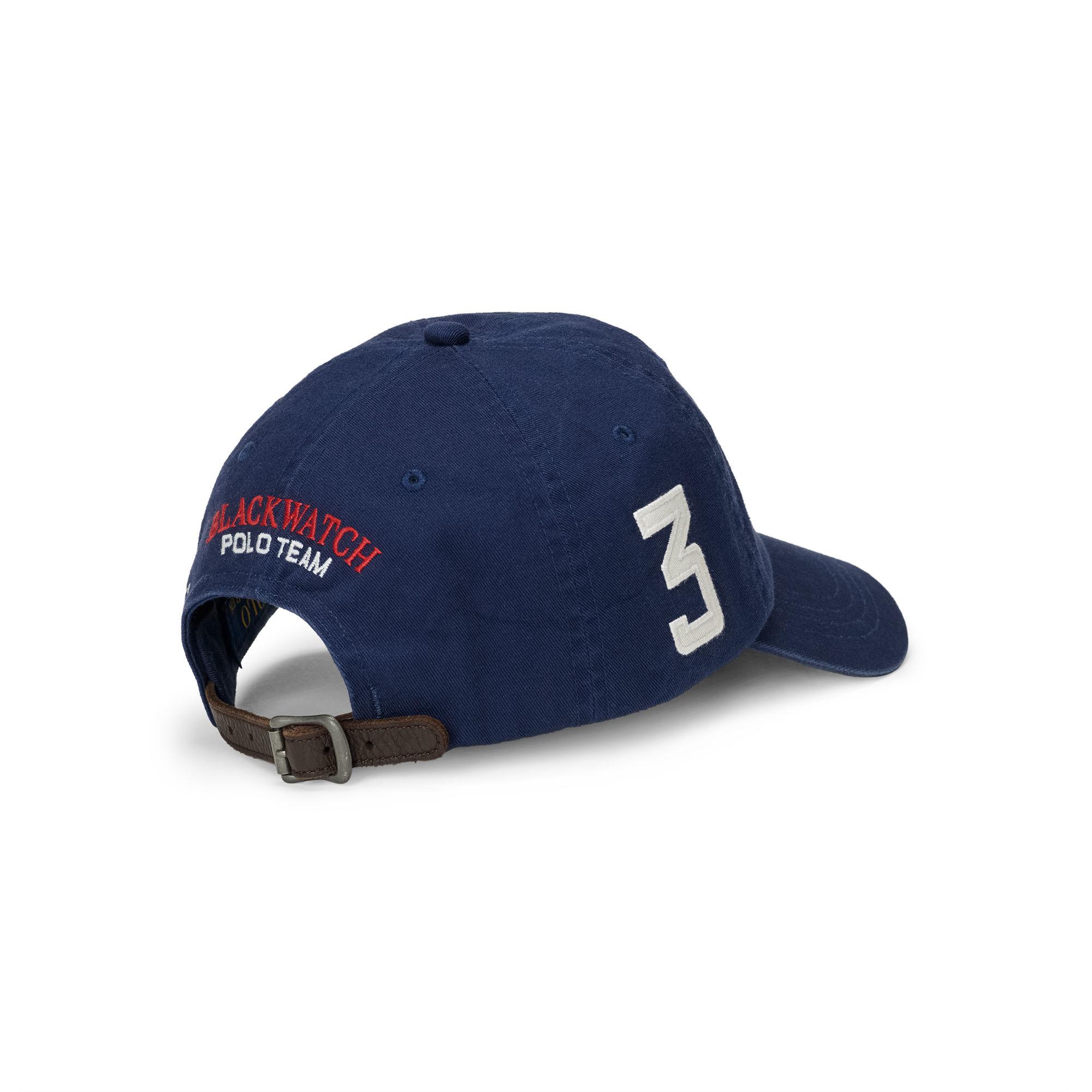 Polo Ralph Lauren Blackwatch Cotton Baseball Cap in Blue for Men - Lyst f357e1056a7d