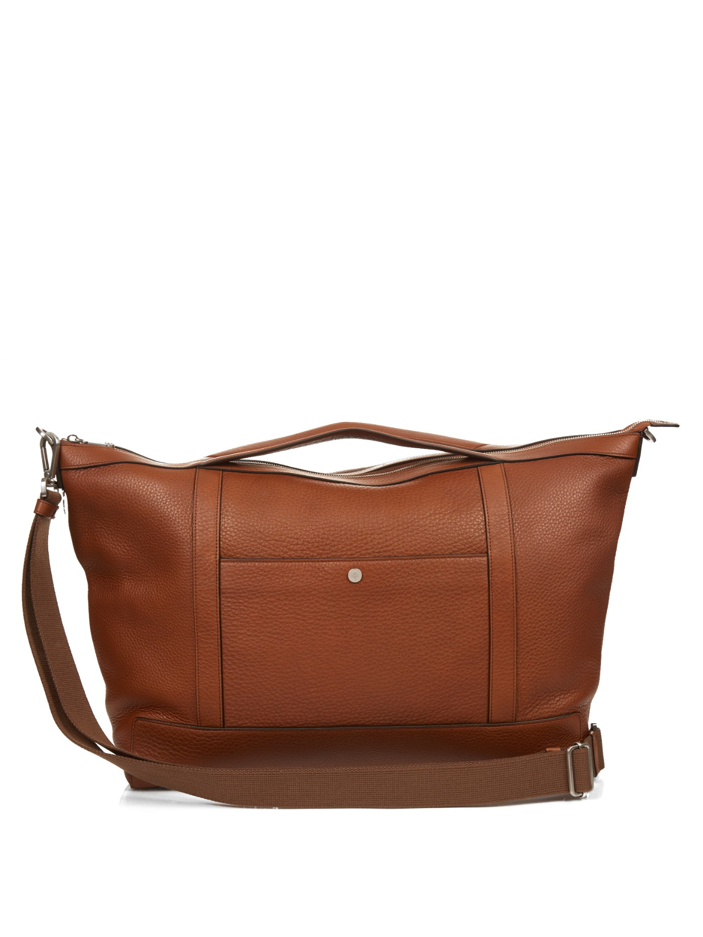 61703274436d discount code for mulberry elgin bag 484ea 095e3  france mulberry multi  tasker grained leather holdall in brown for men lyst 5b081 86ccc