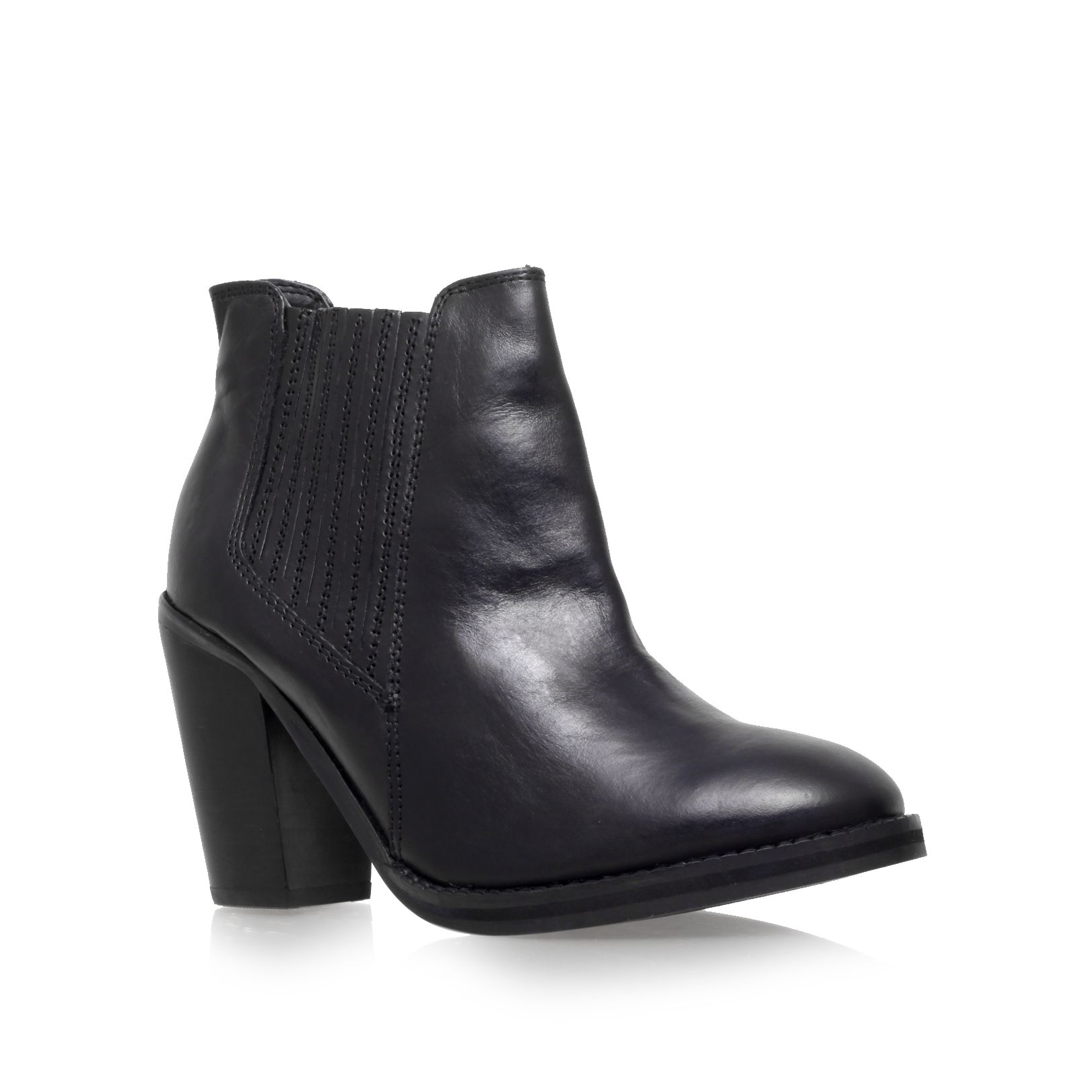 Carvela Kurt Geiger Tally High Heel Ankle Boots In Black | Lyst