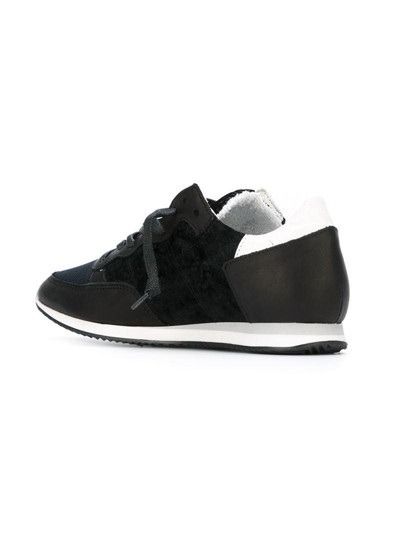 Modèle Philippe Chaussures De Plate-forme Tropez - Noir zspZM