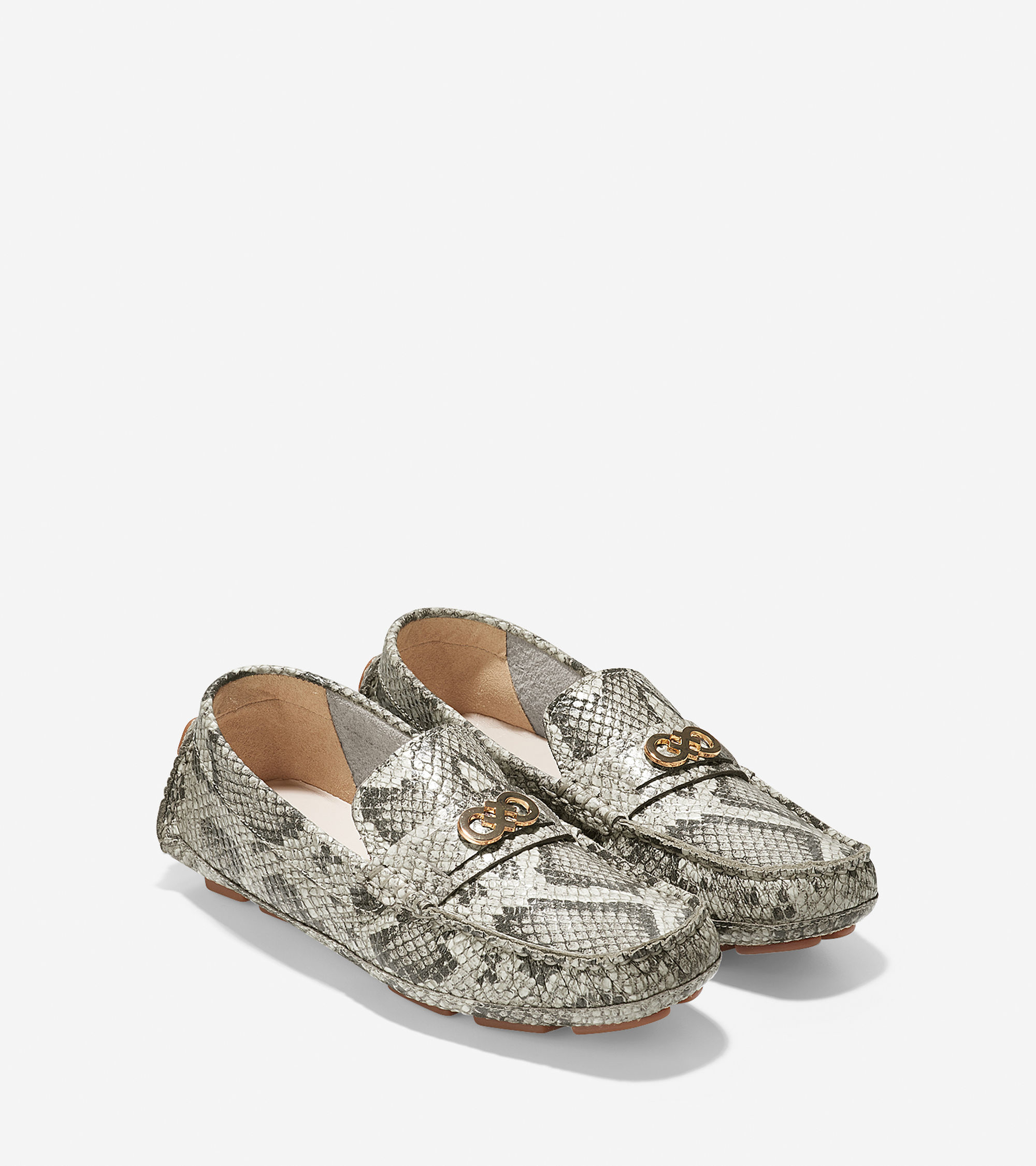 Lyst Cole Haan Shelby Driver In Gray