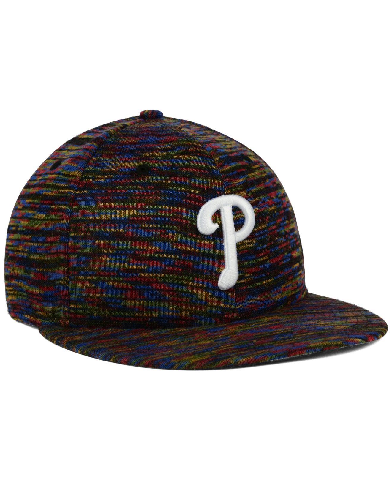 6c7aa100078 Lyst - KTZ Philadelphia Phillies Color Knit 9fifty Snapback Cap for Men