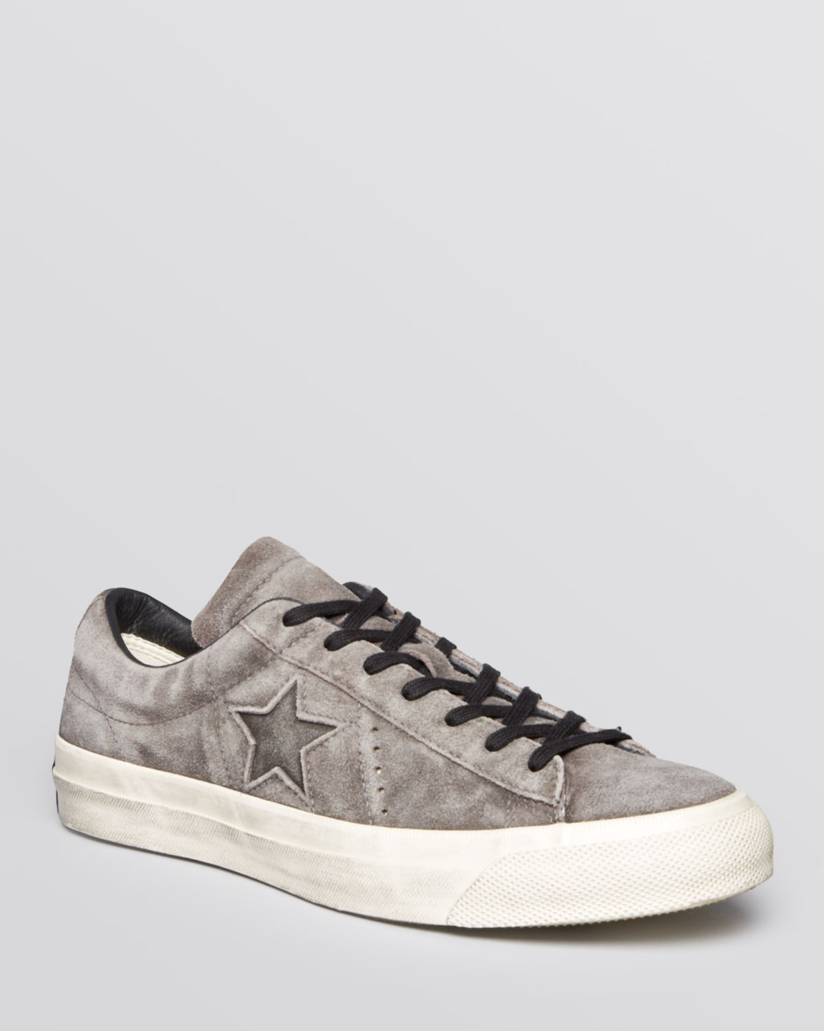 ac88301aefbc91 best price distressed suede sneakers c0907 4e909  sweden gallery.  previously sold at bloomingdales mens john varvatos converse 8f274 1237e