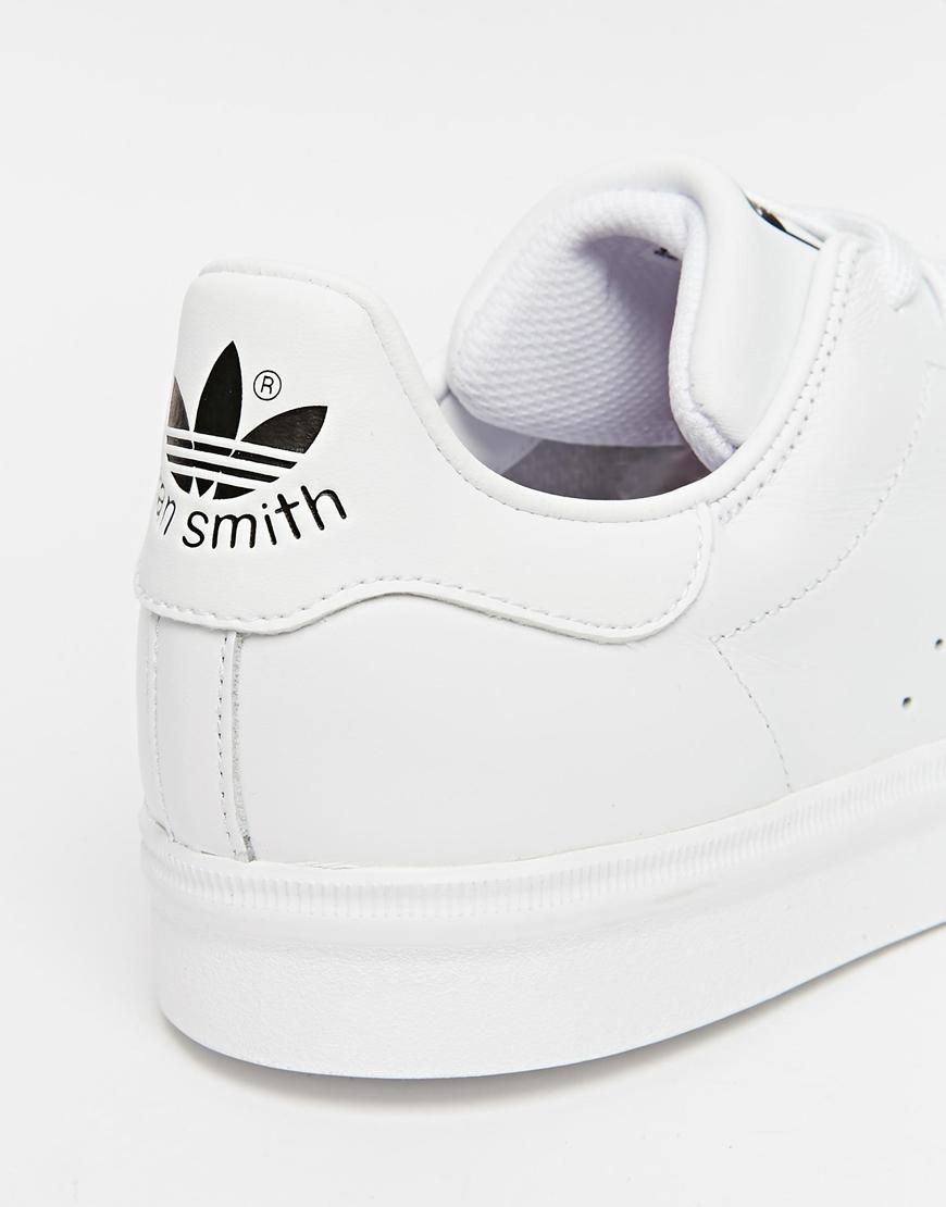 32e742c3a0ff ... greece lyst adidas originals stan smith vulc trainers s77449 in white  for men 4000e d9d22