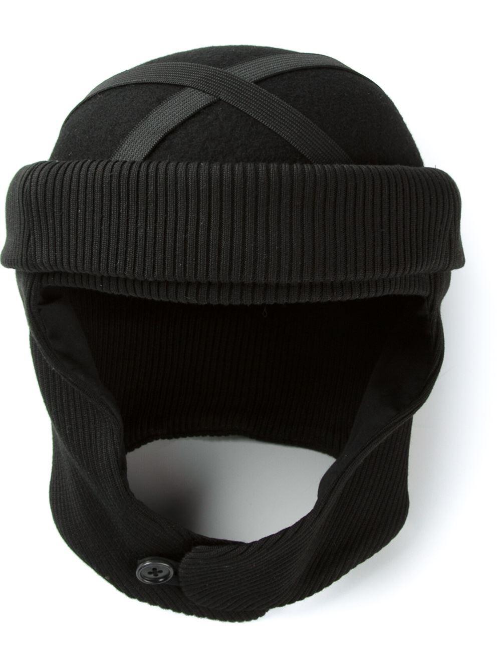 Lyst - Henrik Vibskov Elias Hat in Black for Men 88c7bf7ece2