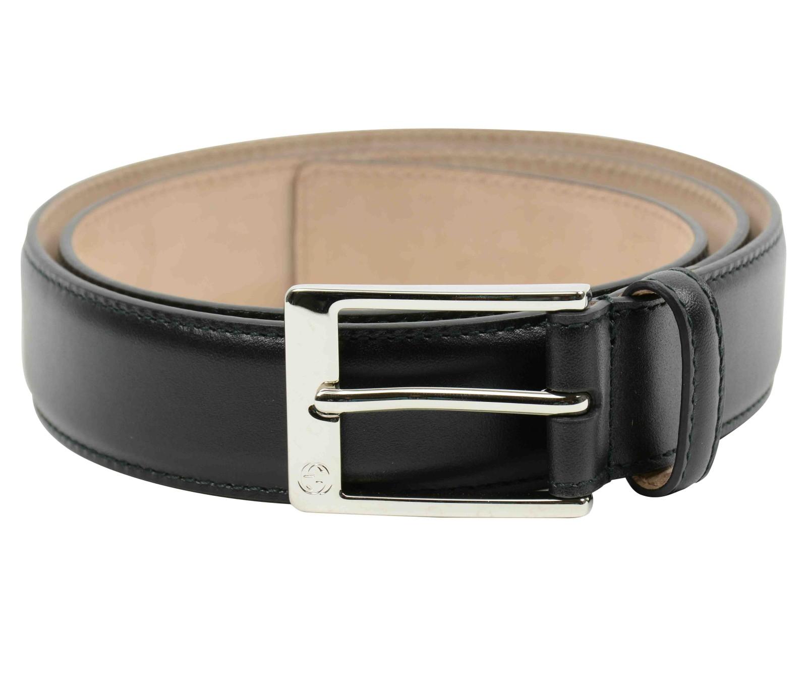Gucci 345658 bgh0n cintura in black for men nero lyst for Portafoglio gucci uomo nero