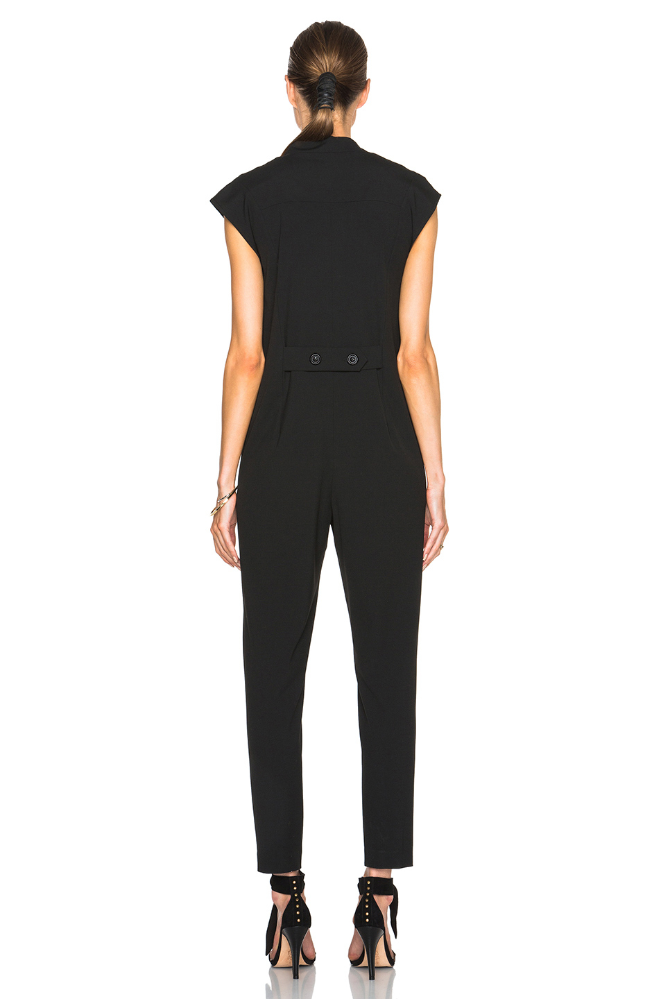 Michelle Mason Mason By Utility Jumpsuit In Black Lyst