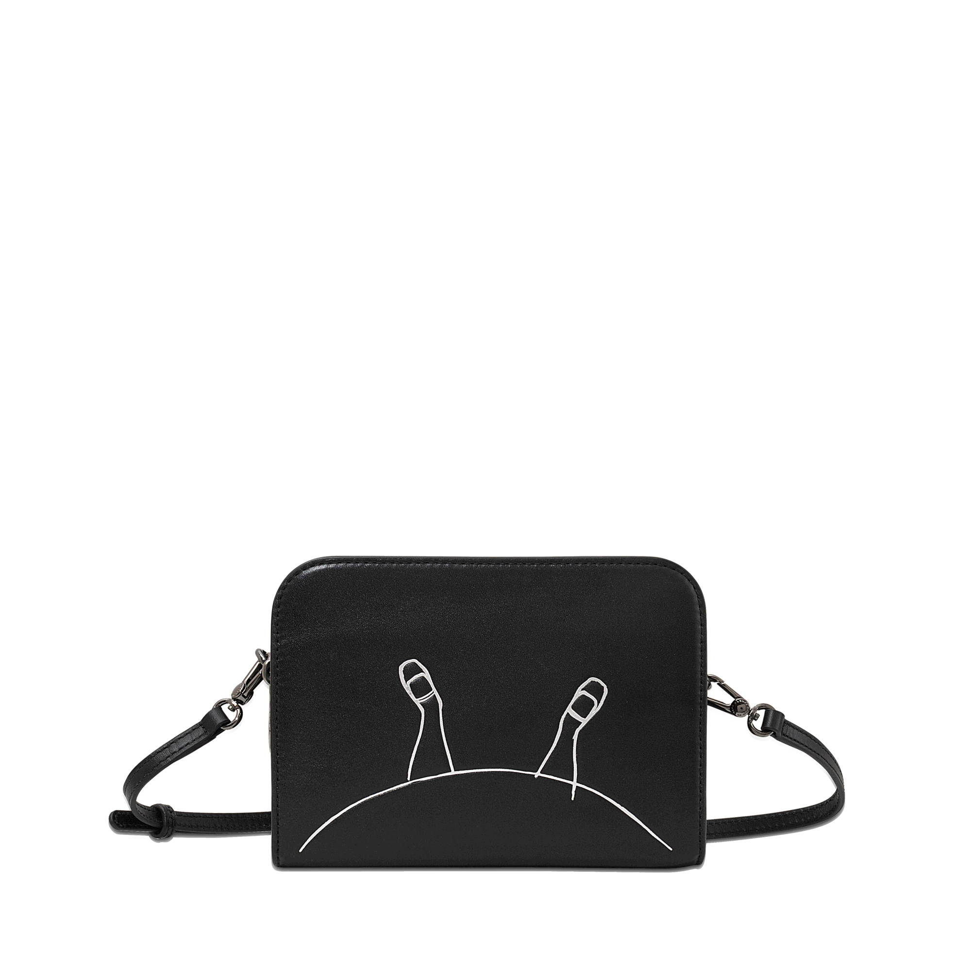 22333e268591 Lyst - Marc By Marc Jacobs Alice Leather Shoulder Bag in Black