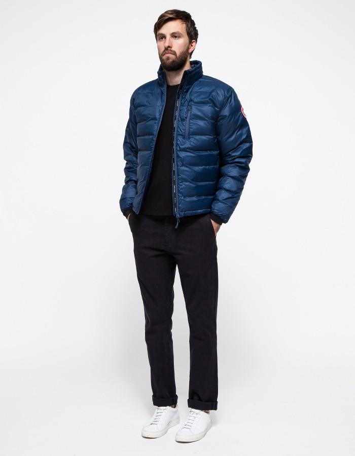 canada goose lodge jacket blue
