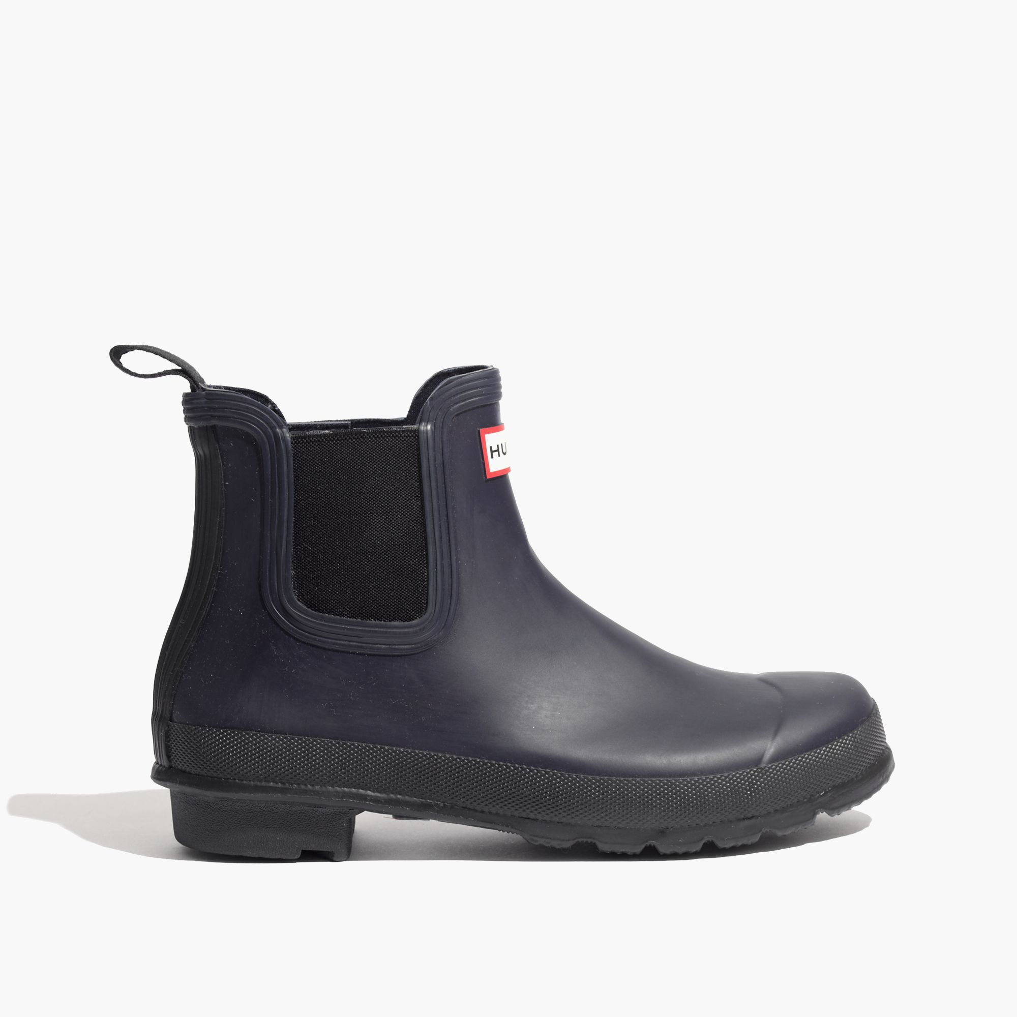 madewell hunter chelsea boots in blue lyst. Black Bedroom Furniture Sets. Home Design Ideas