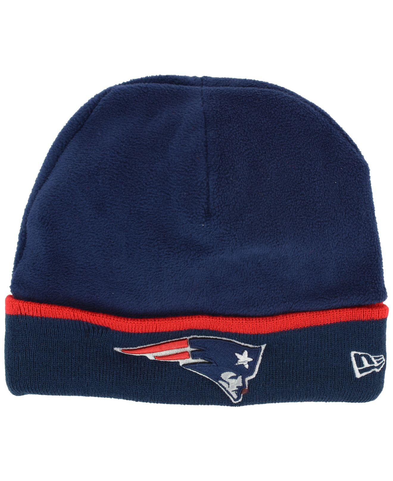 64eb1f581c18d ... hot lyst ktz new england patriots tech knit hat in blue for men 117be  ade37